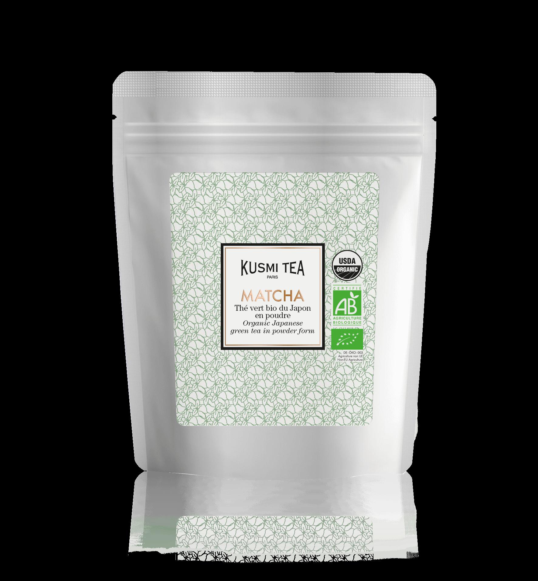 Matcha bio - Thé vert bio du Japon en poudre - Thé en vrac - Kusmi Tea