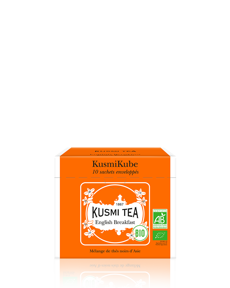 Thé noir - English Breakfast bio - Sachets - Kusmi Tea