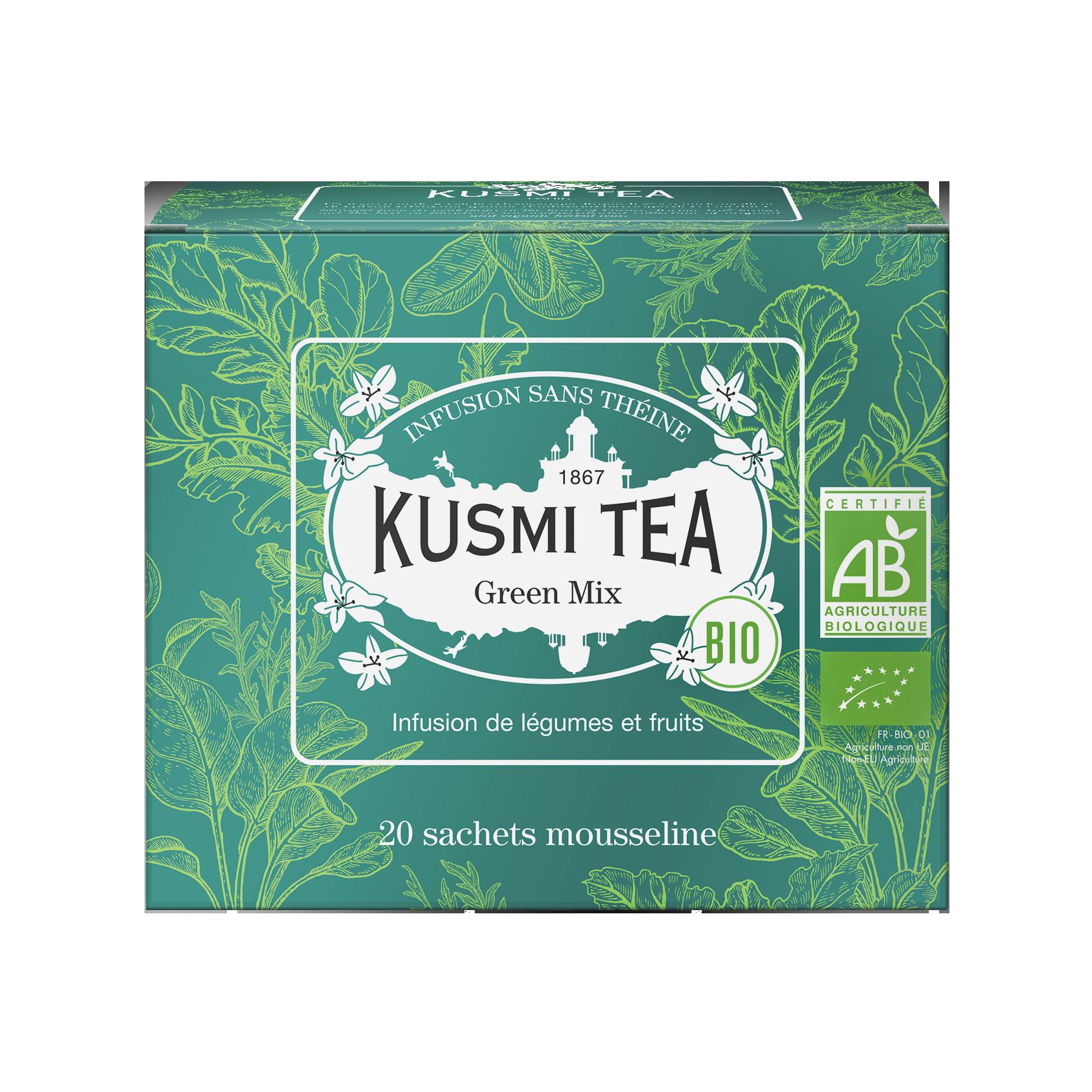 Infusion - Green Mix (Infusion bio) - Sachets - Kusmi Tea