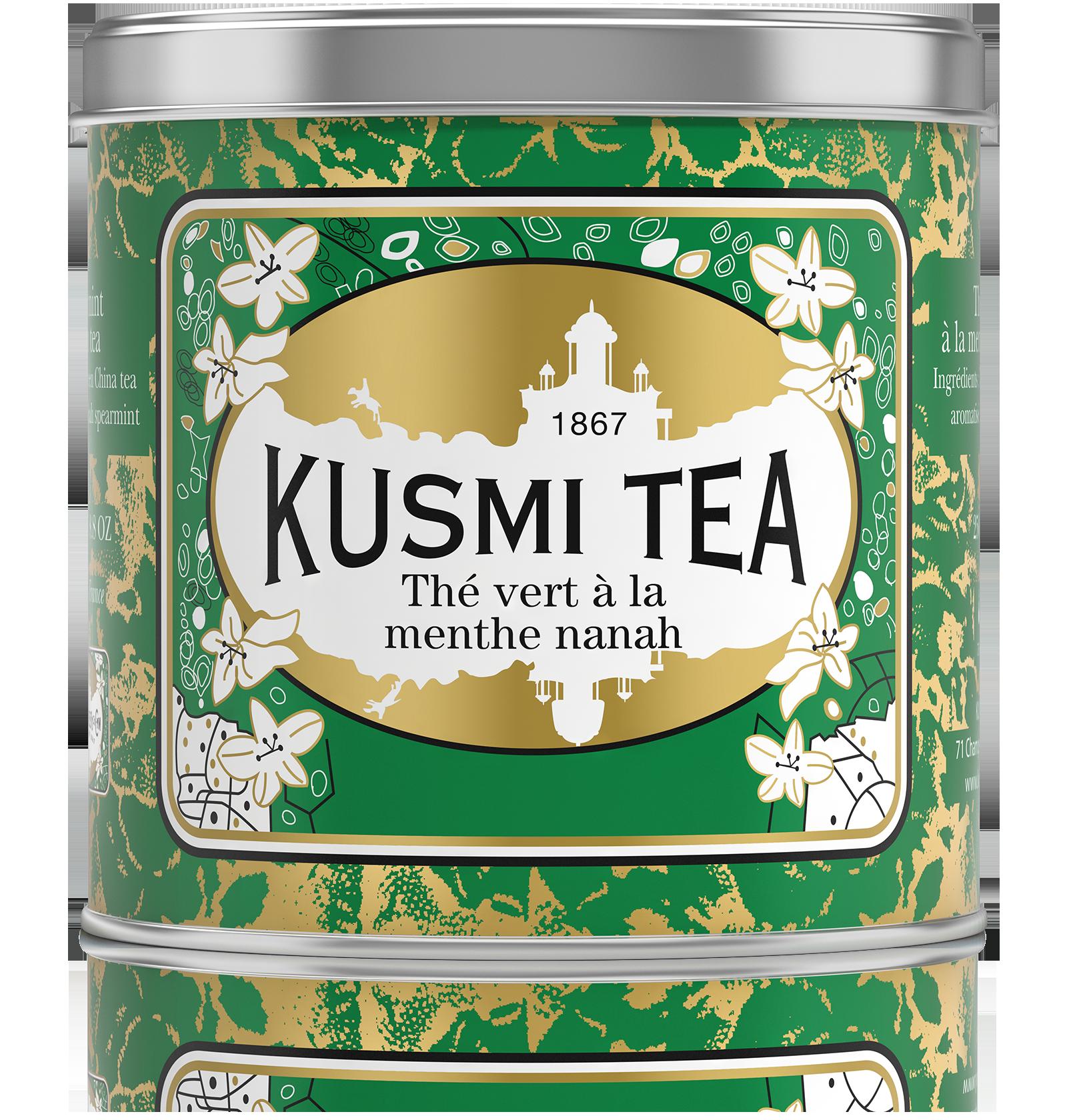 Thé vert - Thé vert à la menthe - Vrac - Kusmi Tea