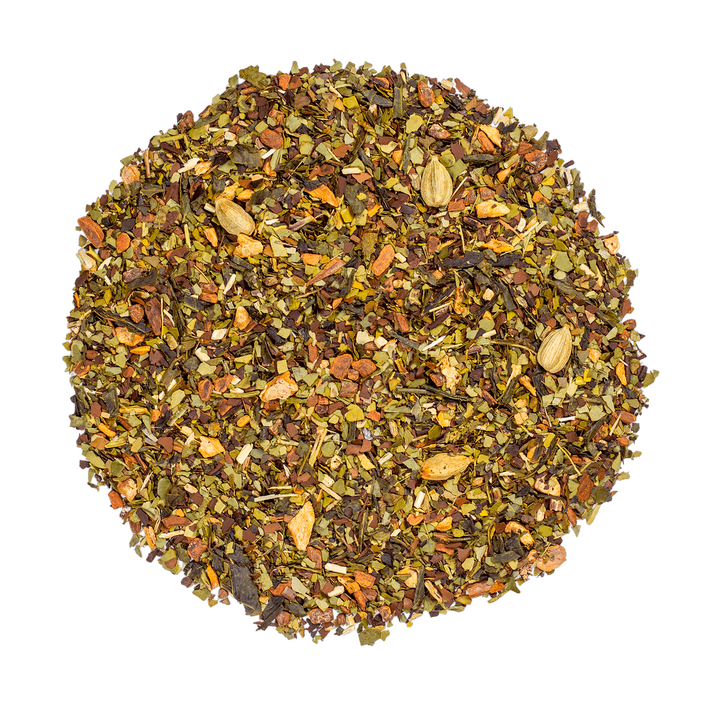 Boost - Thé vert, maté, gingembre - Thé en vrac - Kusmi Tea