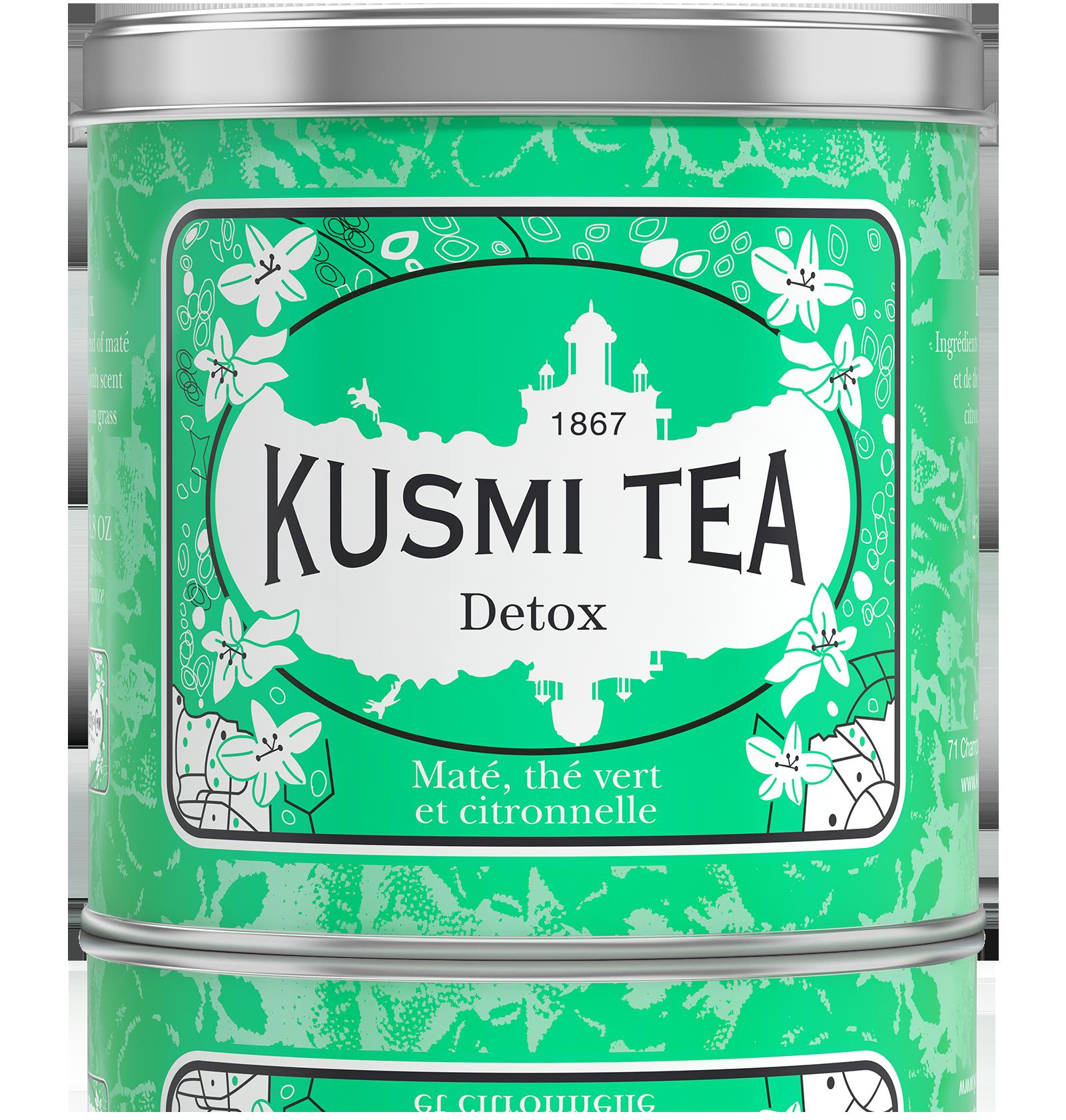 Thé vert, maté vrac - Detox - Kusmi Tea