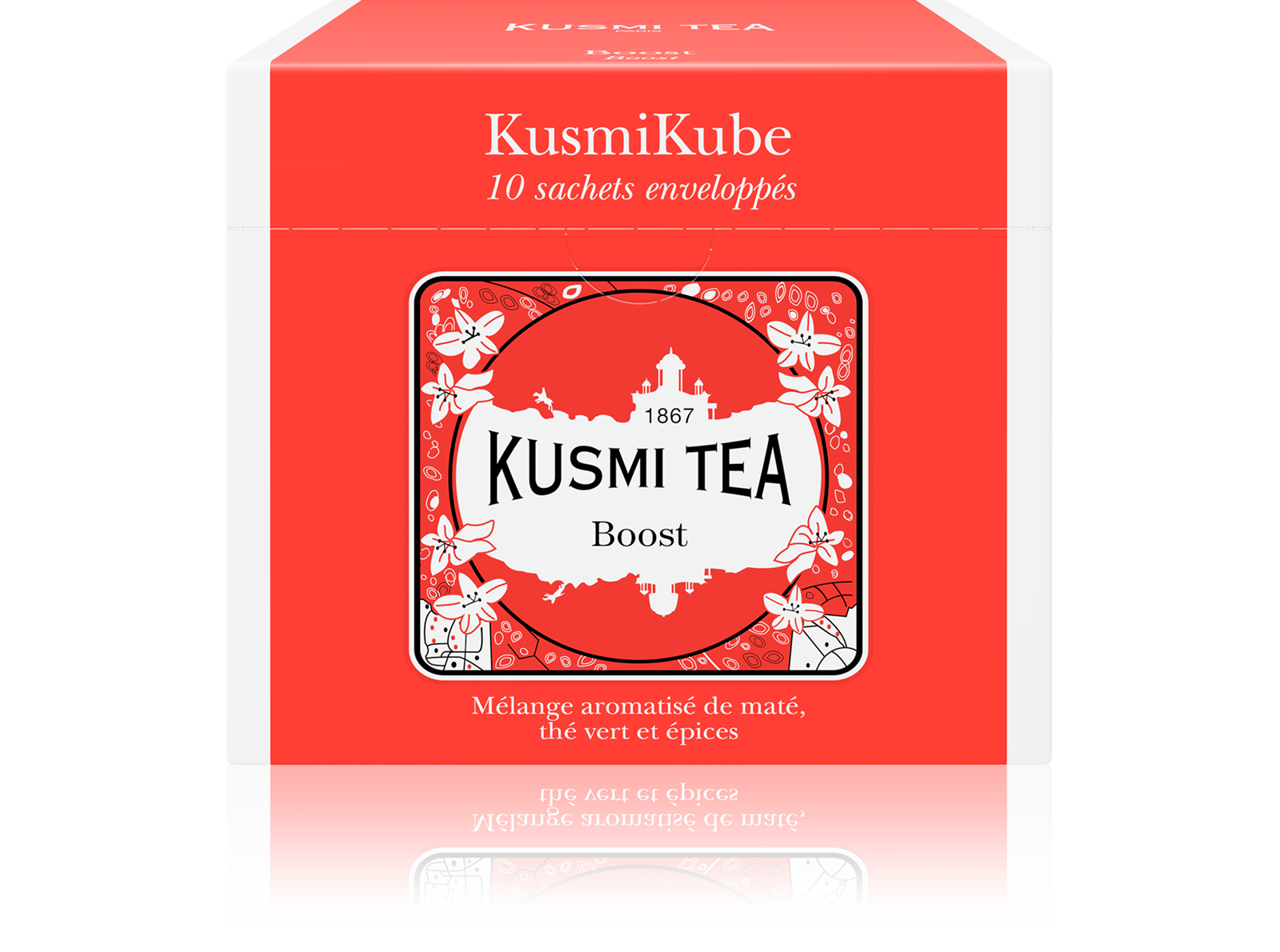 Thé vert, maté - Boost - Sachets - Kusmi Tea