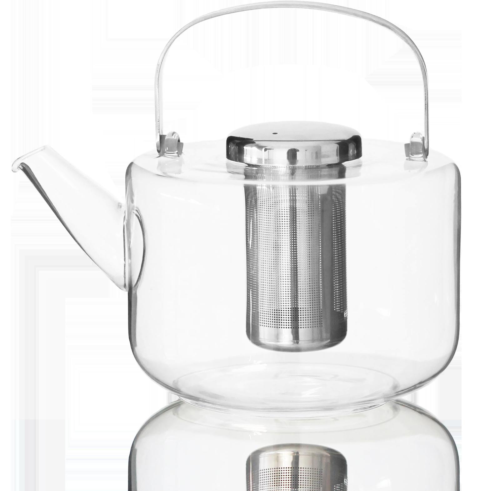 Théière verre Bjorn 1,2L - Accessoire pour le thé - Kusmi Tea
