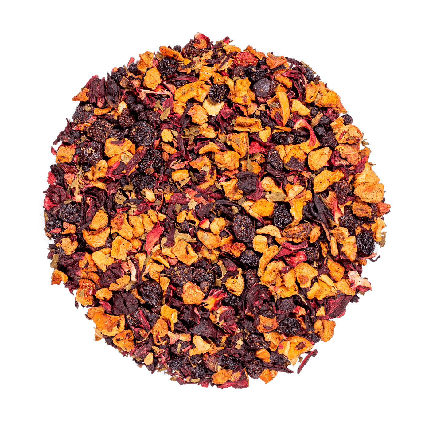 AquaRosa Infusion de fruits bio - Infusion hibiscus, fruits rouges - Thé en vrac - Kusmi Tea