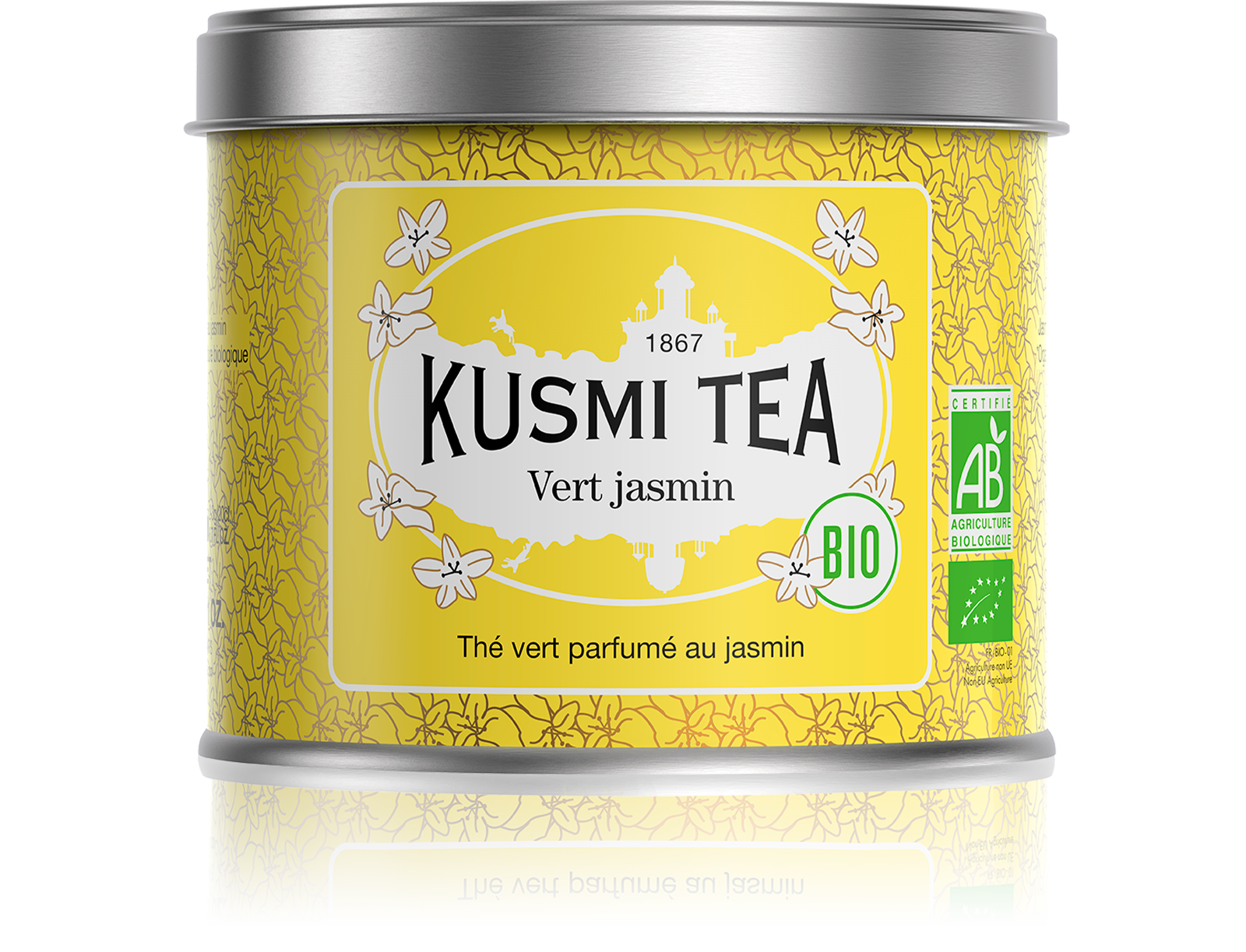 Thé vert - Vert Jasmin bio - Kusmi Tea