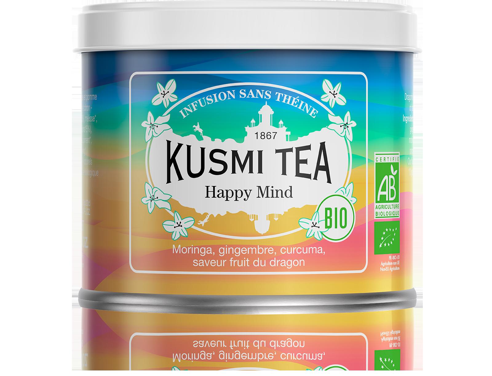 Happy Mind (Infusion bio) - Kusmi Tea