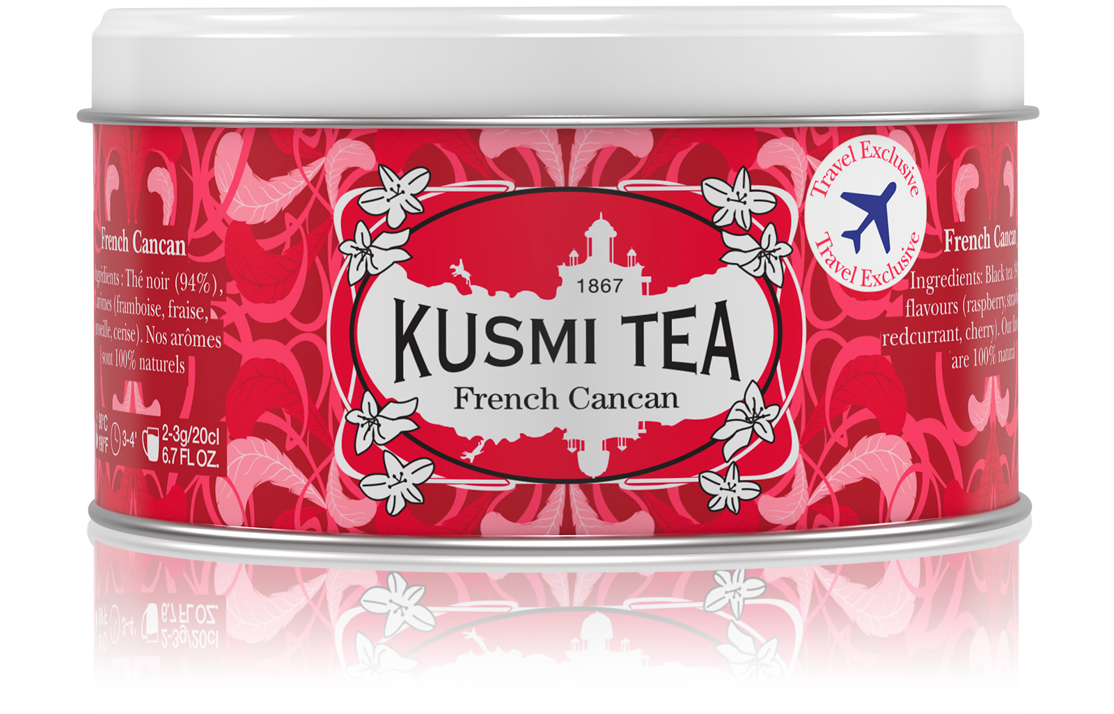 Thé noir - French Cancan - Vrac - Kusmi Tea
