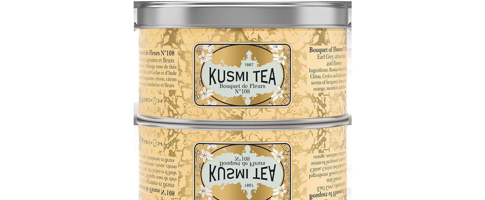 Earl Grey - Bouquet de Fleurs N°108 - Kusmi Tea