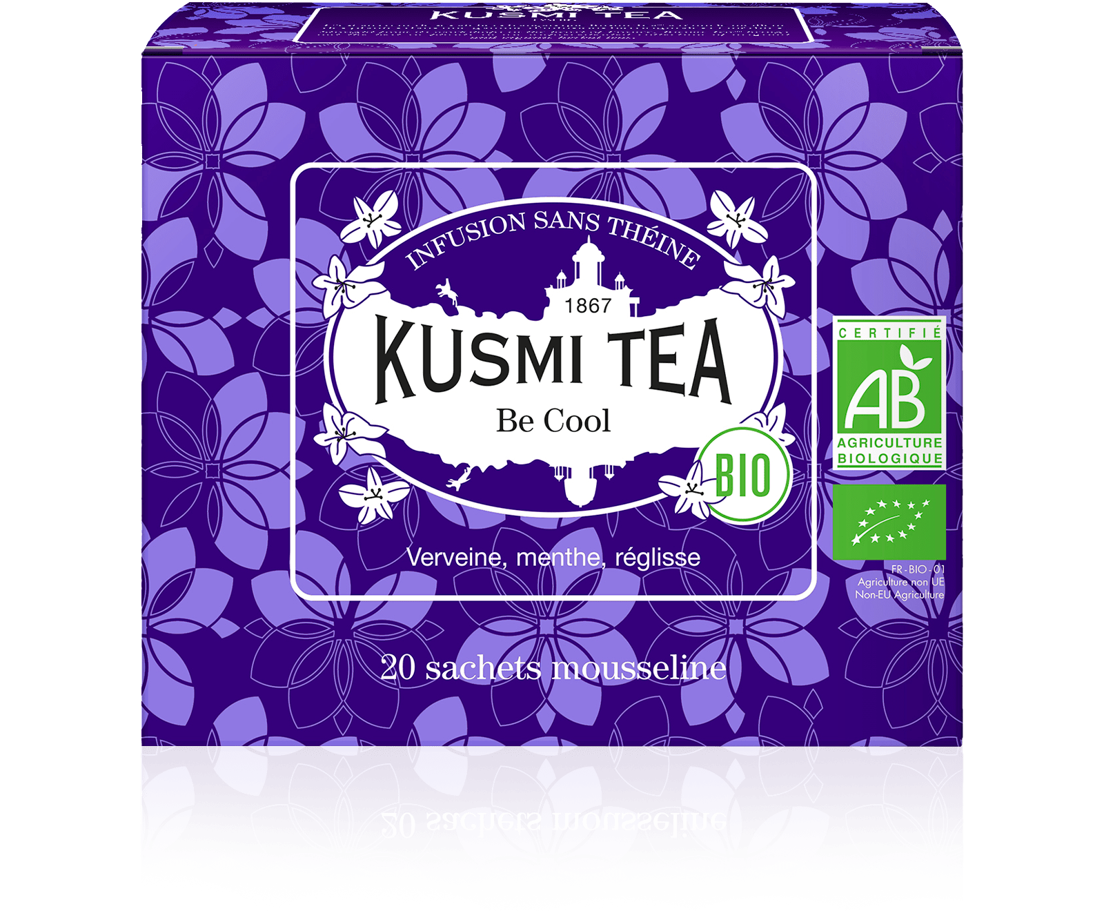 Infusion - Be Cool bio - Sachets - Kusmi Tea