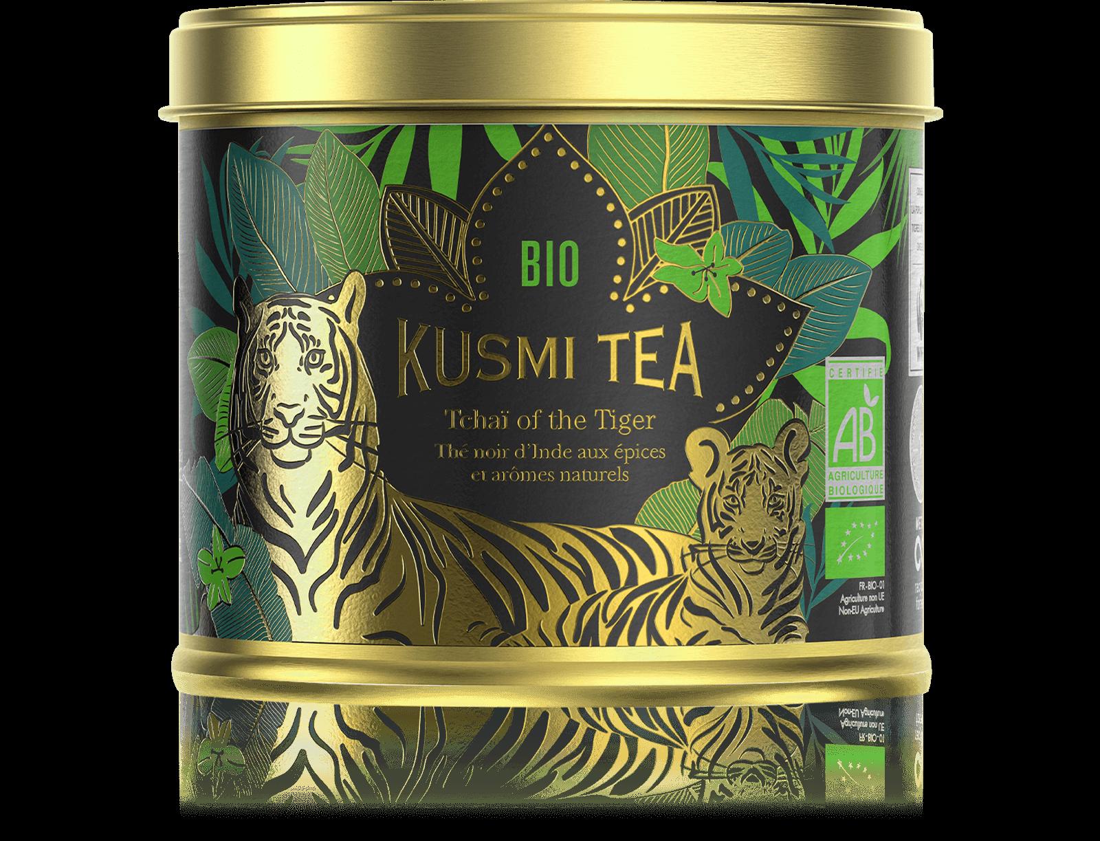 Tchaï of the Tiger - Thé noir Chaï Bio Kusmi Tea