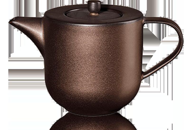 Théière en porcelaine 0,60L Coppa - Accessoire pour le thé - Kusmi Tea