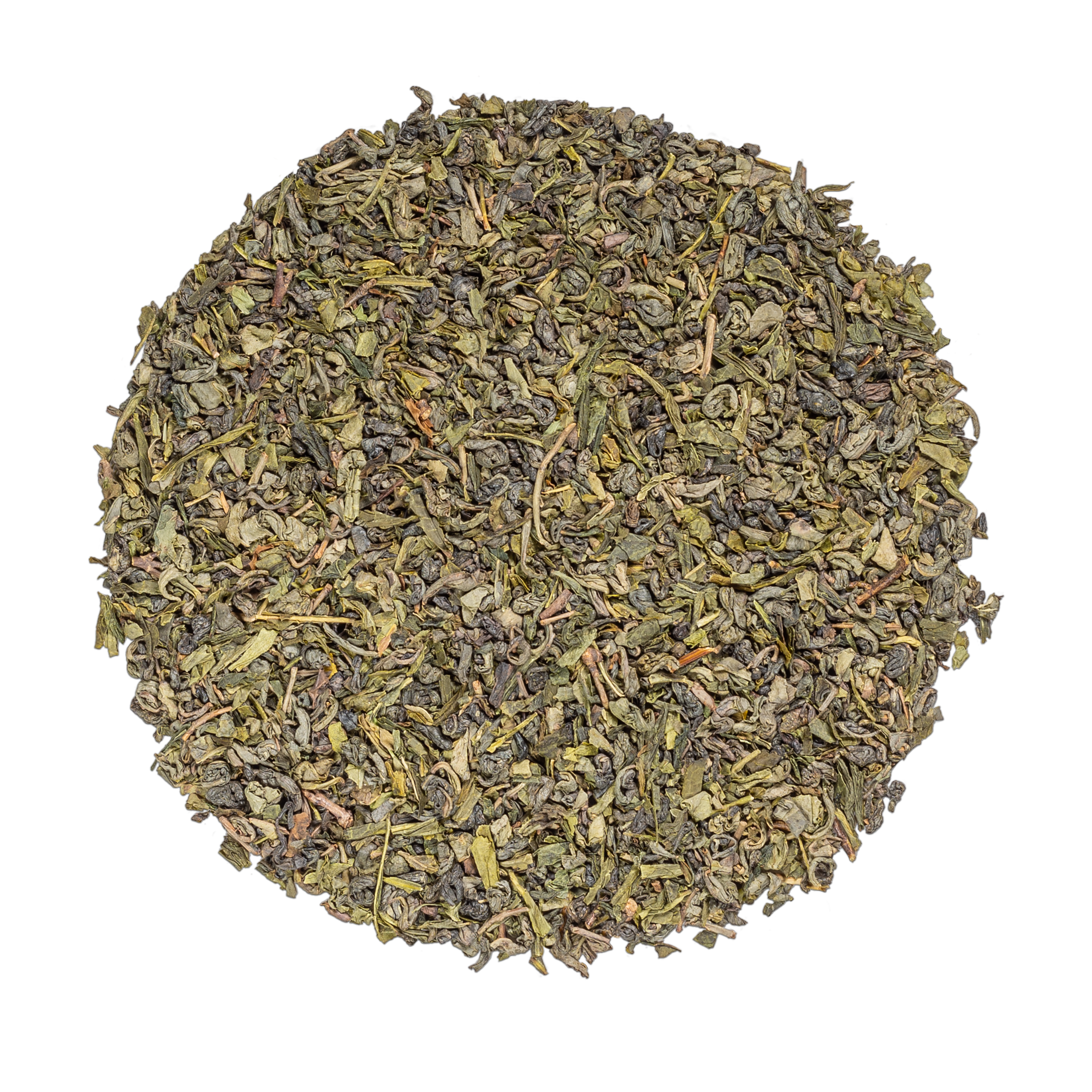 Thé vert - Thé vert à la menthe bio à l'arôme naturel de rose - Vrac - Kusmi Tea