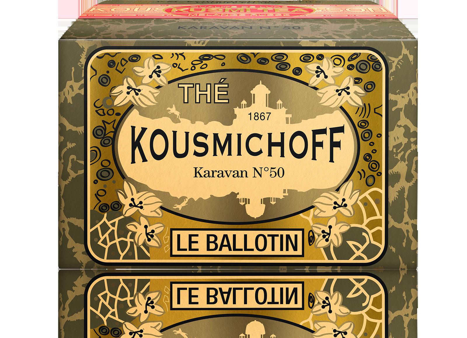 Thé noir - Karavan N°50 - Vrac - Kusmi Tea