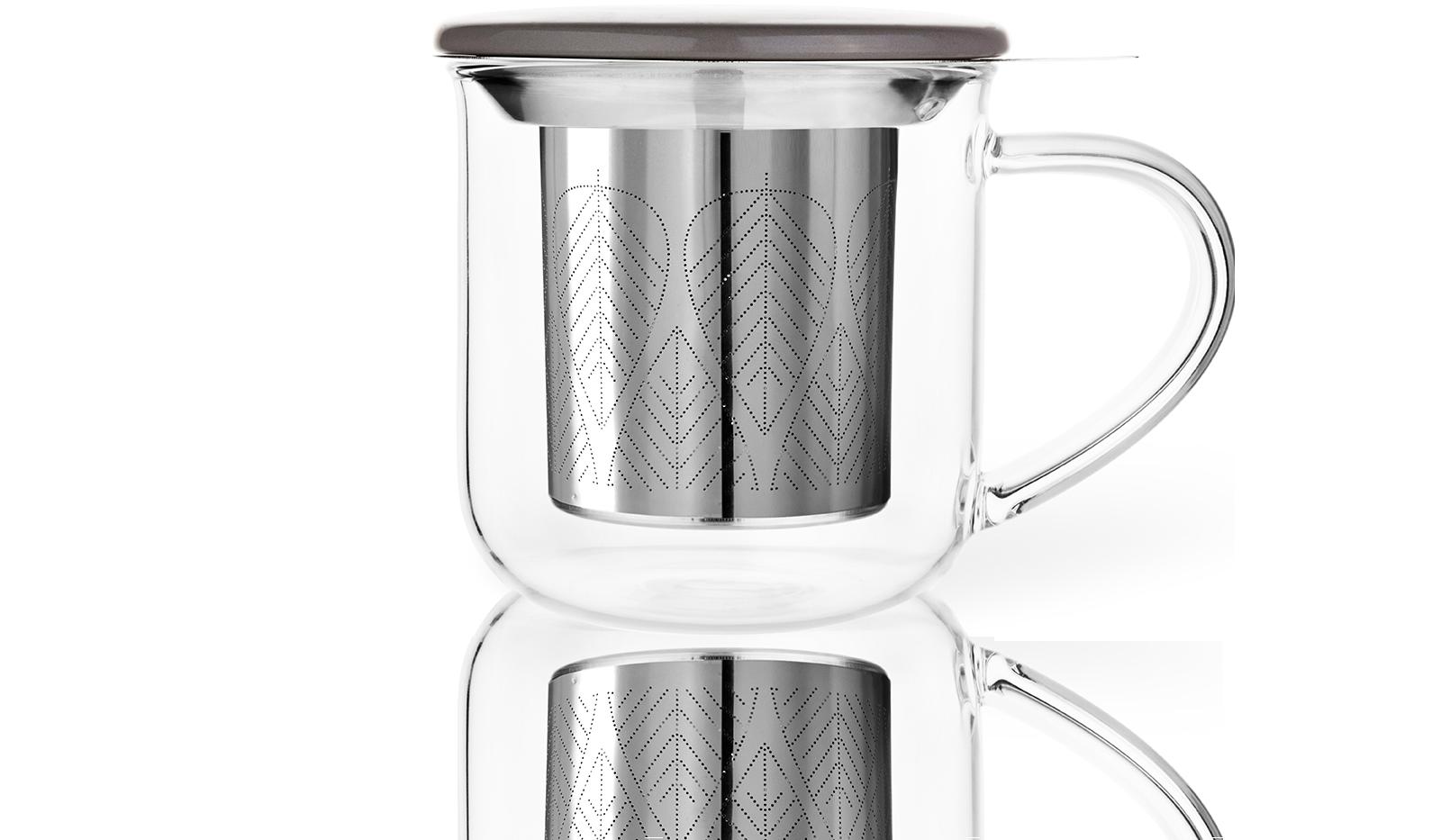 Tisanière Verre Eva 45Cl -Tasse à thé Kusmi Tea