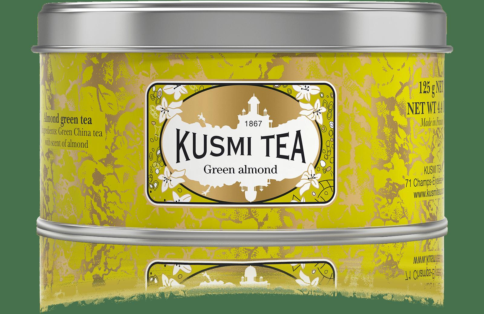 Thé vert - Vert Amande - Vrac - Kusmi Tea
