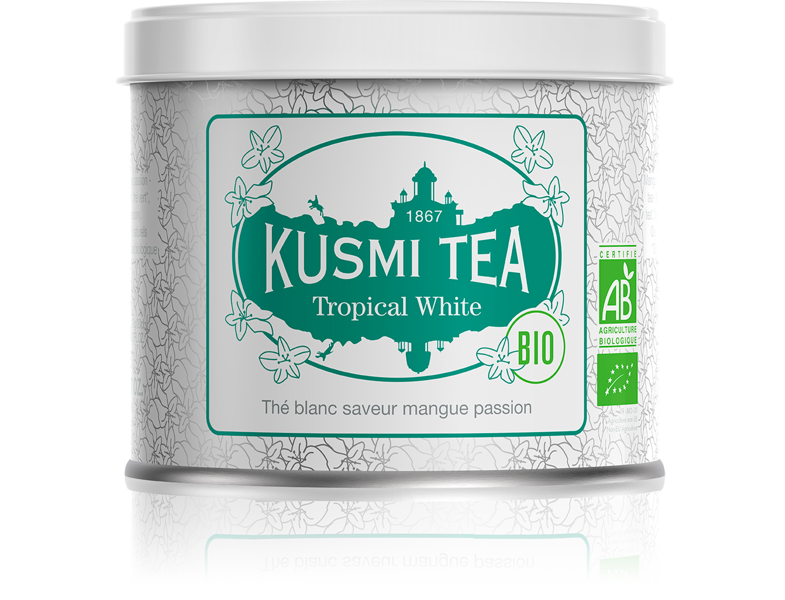 Thé blanc - Tropical White bio - Vrac - Kusmi Tea