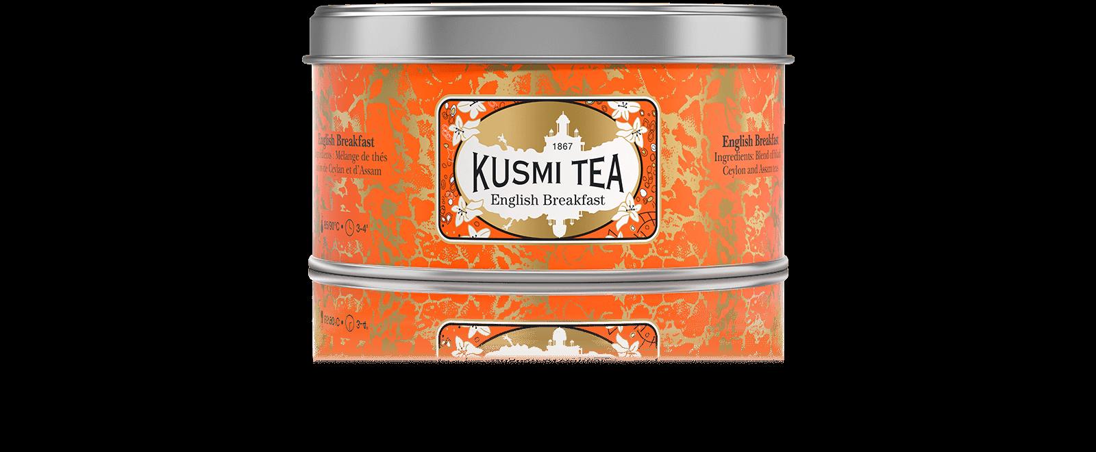 English Breakfast - Thé noir de Ceylan, Assam - Kusmi Tea