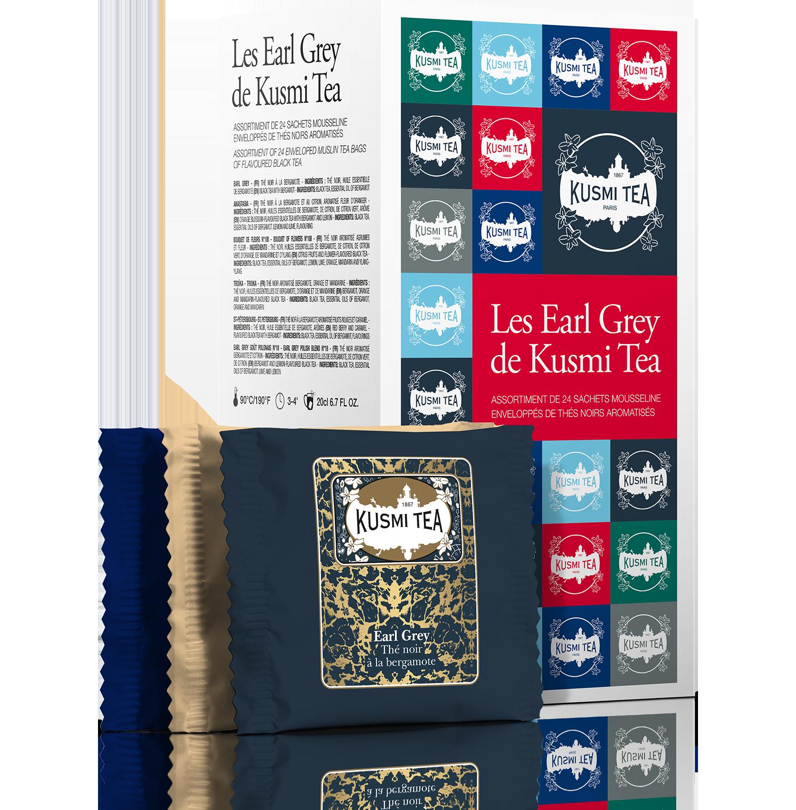 Coffret de thés Les Earl Grey