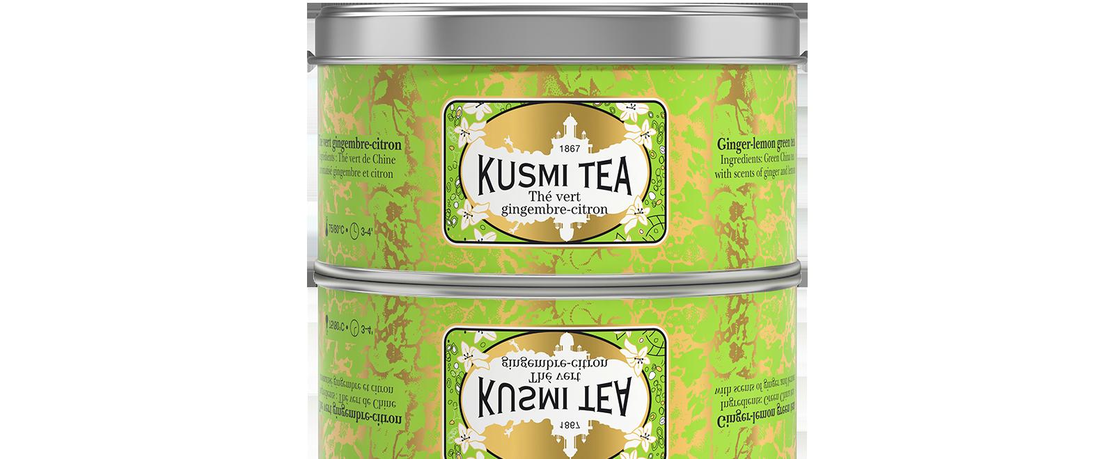 Thé vert - Thé vert saveur gingembre-citron - Kusmi Tea