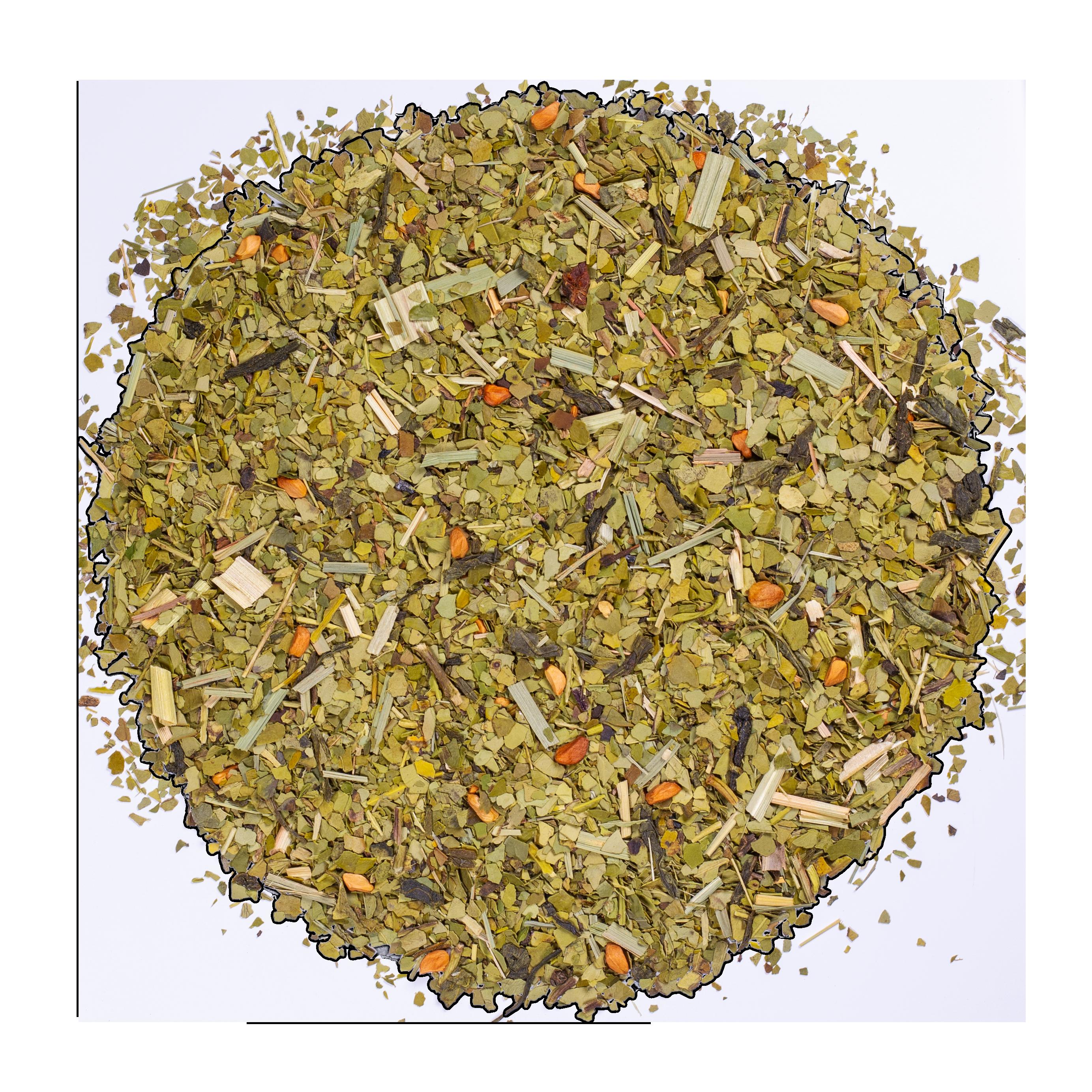 Thé vert, maté - Detox bio - Vrac - Kusmi Tea