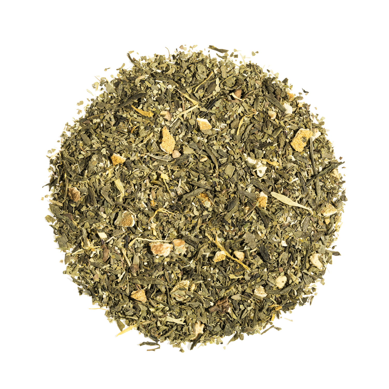 Thé vert, maté vrac - Lovely Morning Bio - Kusmi Tea