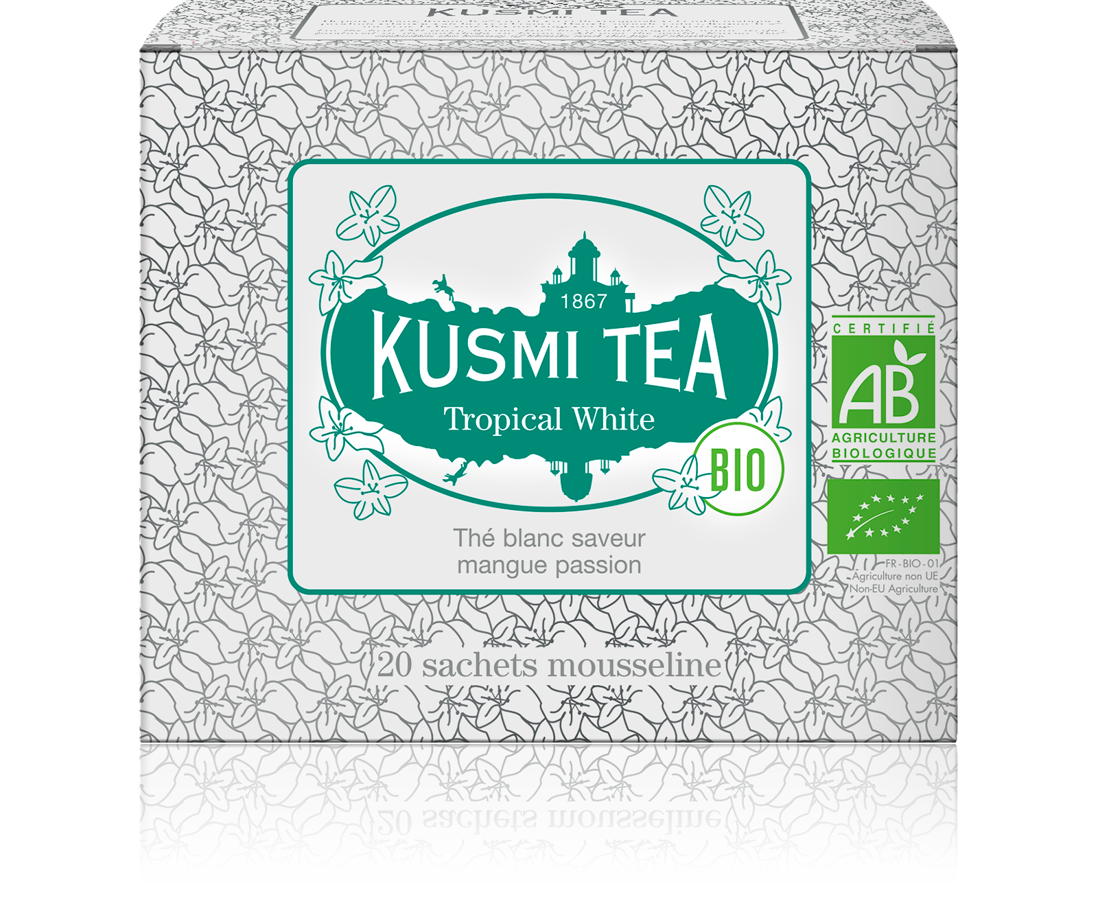 Thé blanc - Tropical White bio - Sachets - Kusmi Tea