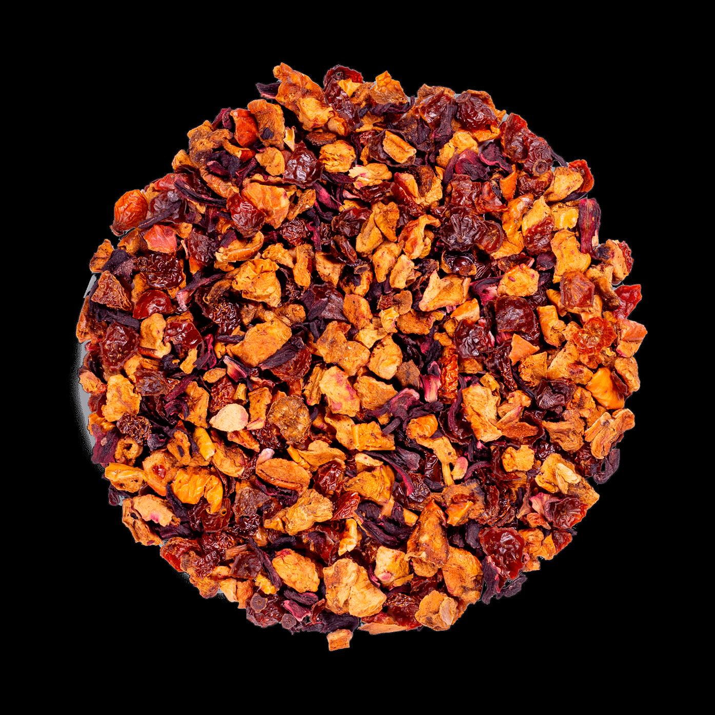 AquaExotica Infusion de fruits bio - Infusion hibiscus, mangue - Thé en vrac - Kusmi Tea