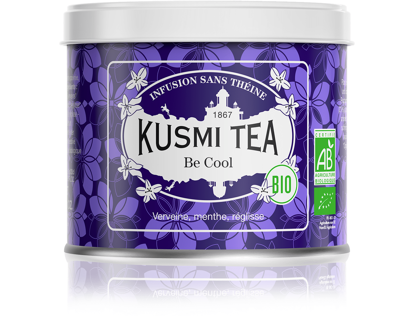 Infusion - Be Cool bio - Vrac - Kusmi Tea