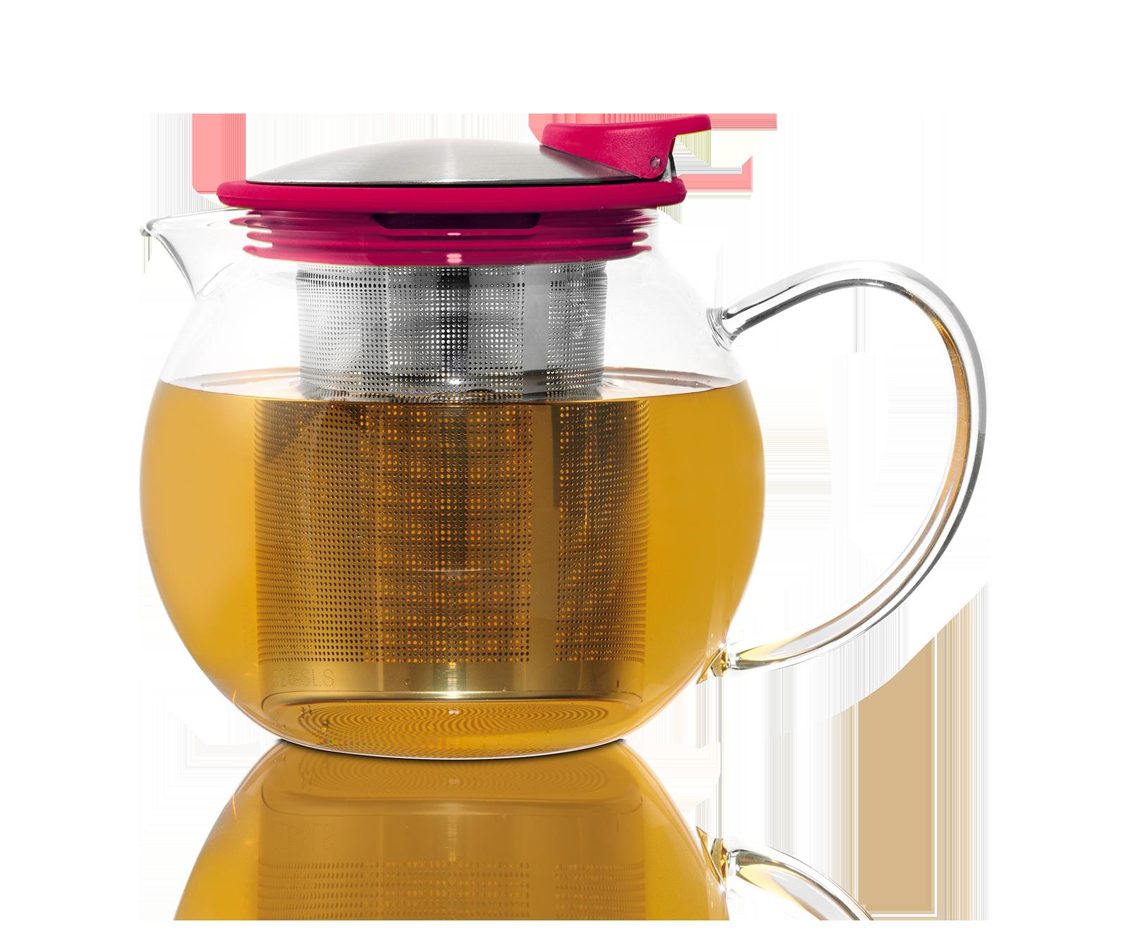 Théière Bola en verre avec filtre et couvercle 0,75L