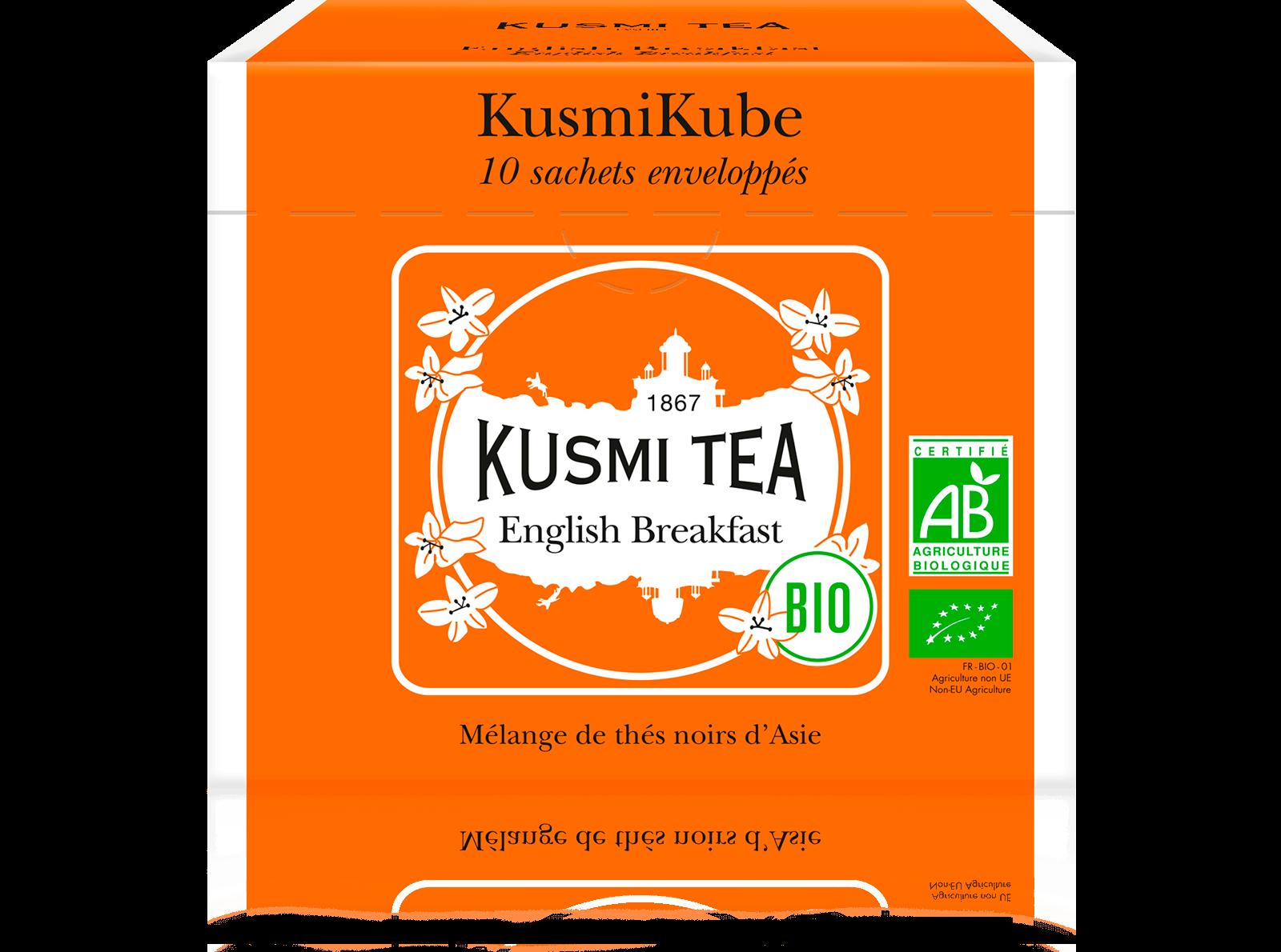 English Breakfast bio - Thé noir de Ceylan, Assam - Sachets de thé - Kusmi Tea