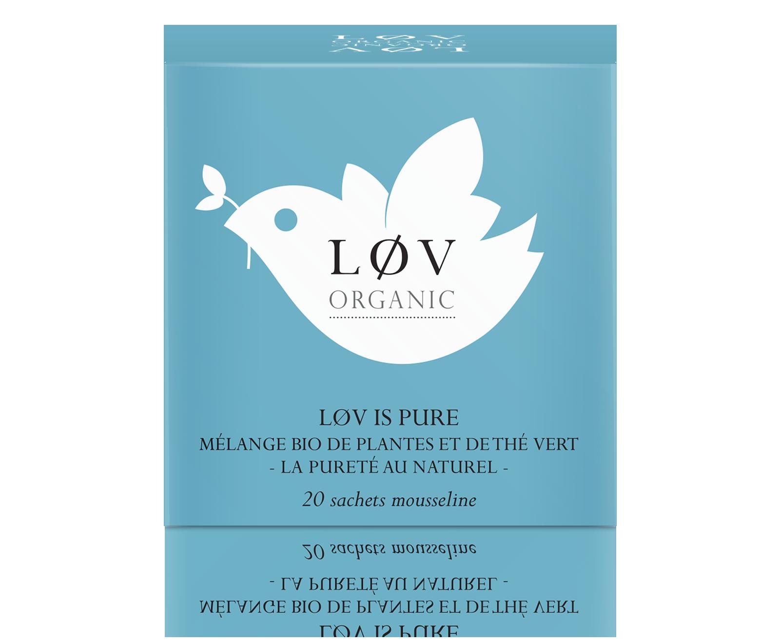 Løv is Pure Bio - Kusmi Tea