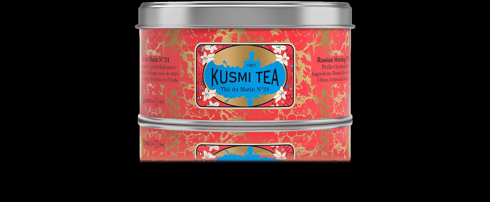 Thé du Matin N°24 - Thés noirs de Ceylan et de Chine - Kusmi Tea