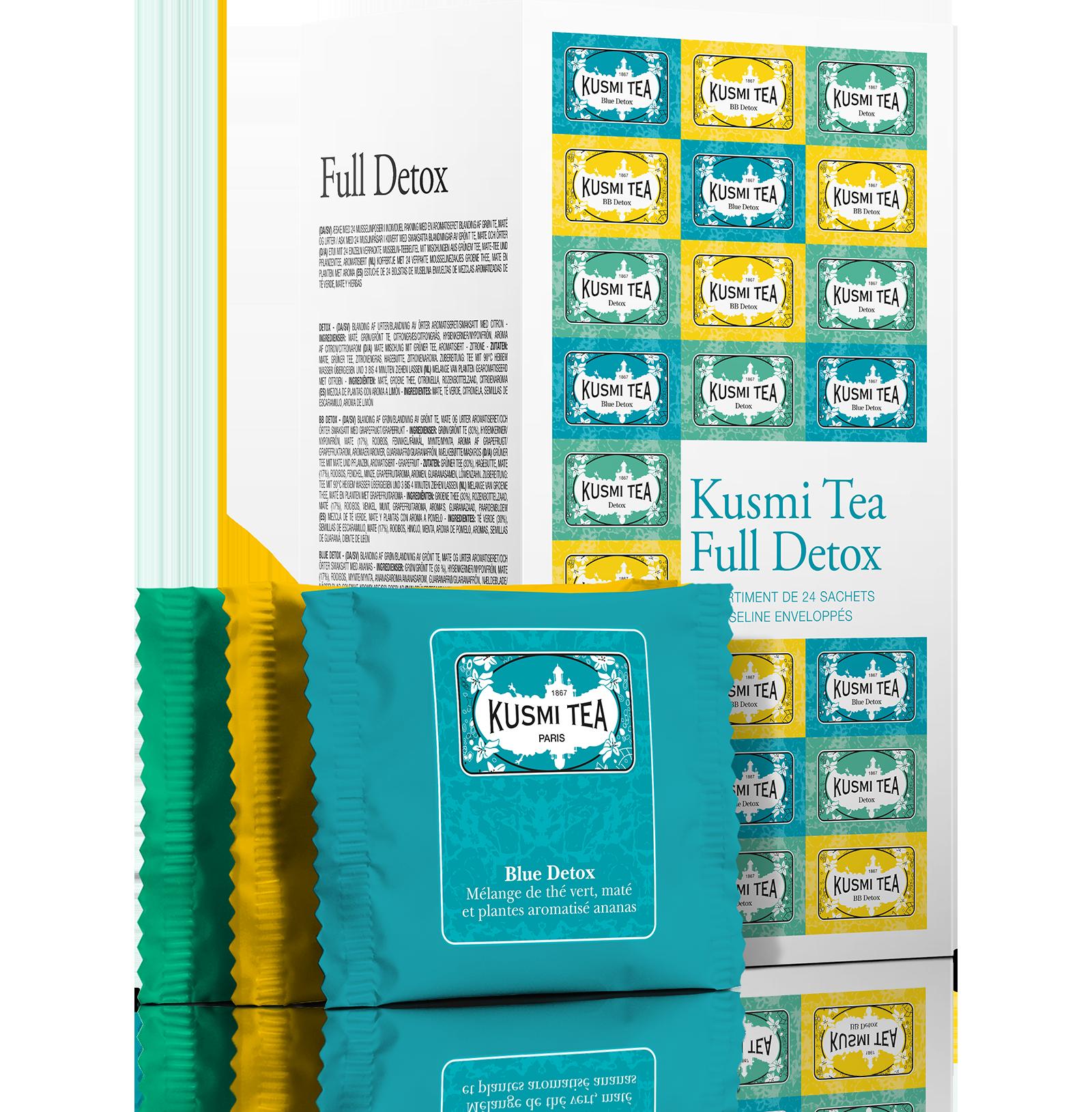 Coffret de thé - Coffret Full Detox - Kusmi Tea