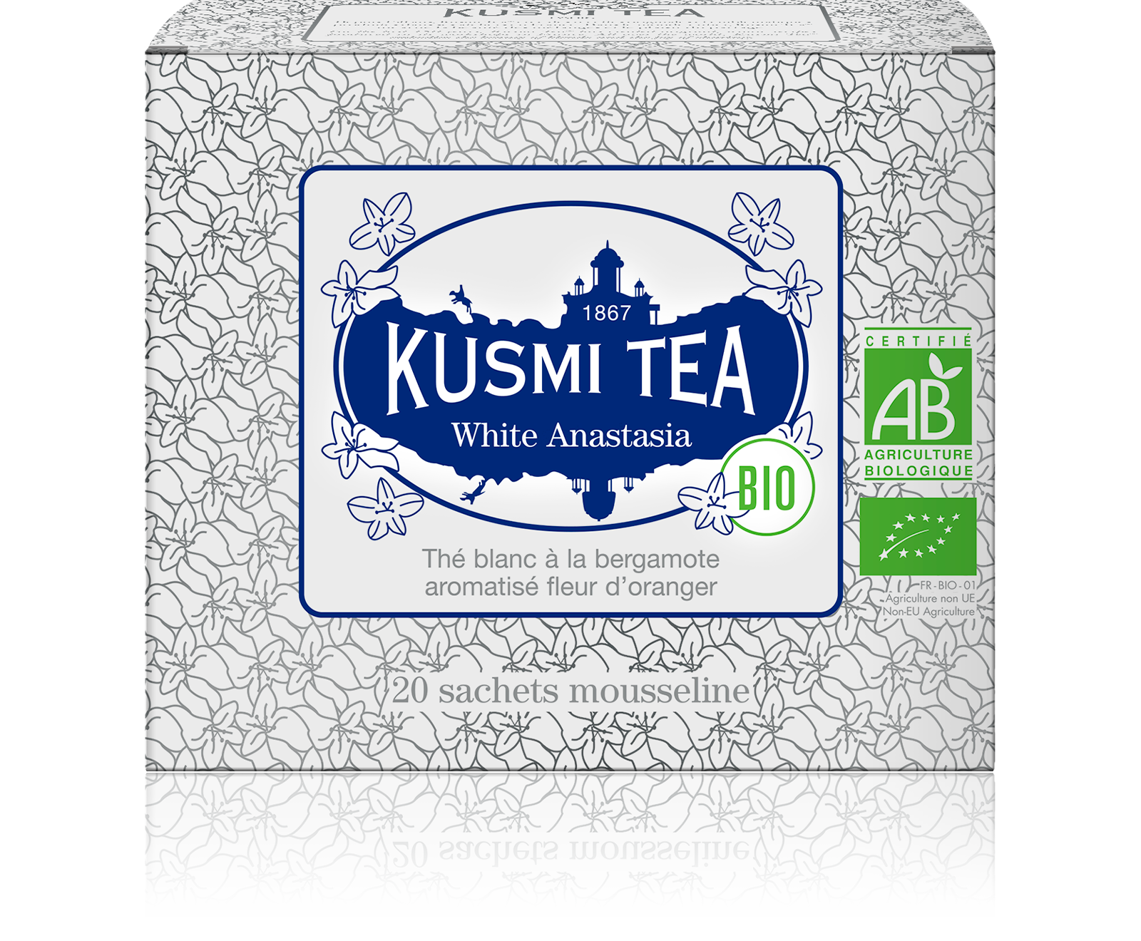 Thé blanc - White Anastasia Bio - Sachets - Kusmi Tea
