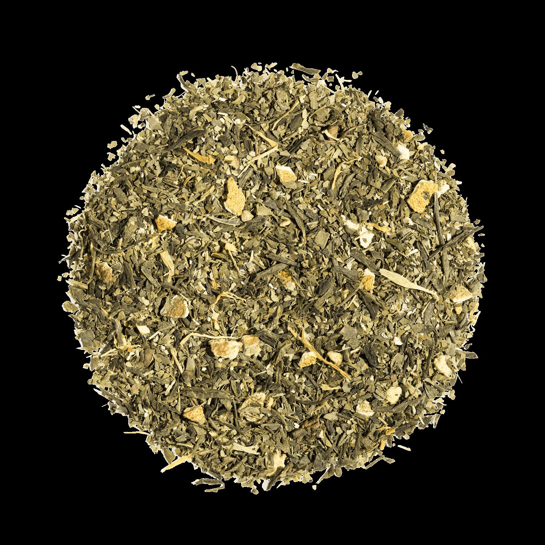 Lovely Morning bio - Thé vert, maté, agrumes - Thé en vrac - Kusmi Tea
