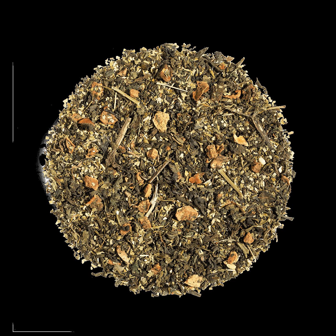 Lov is Pure bio - Thé vert, maté, ortie - Thé en vrac - Kusmi Tea