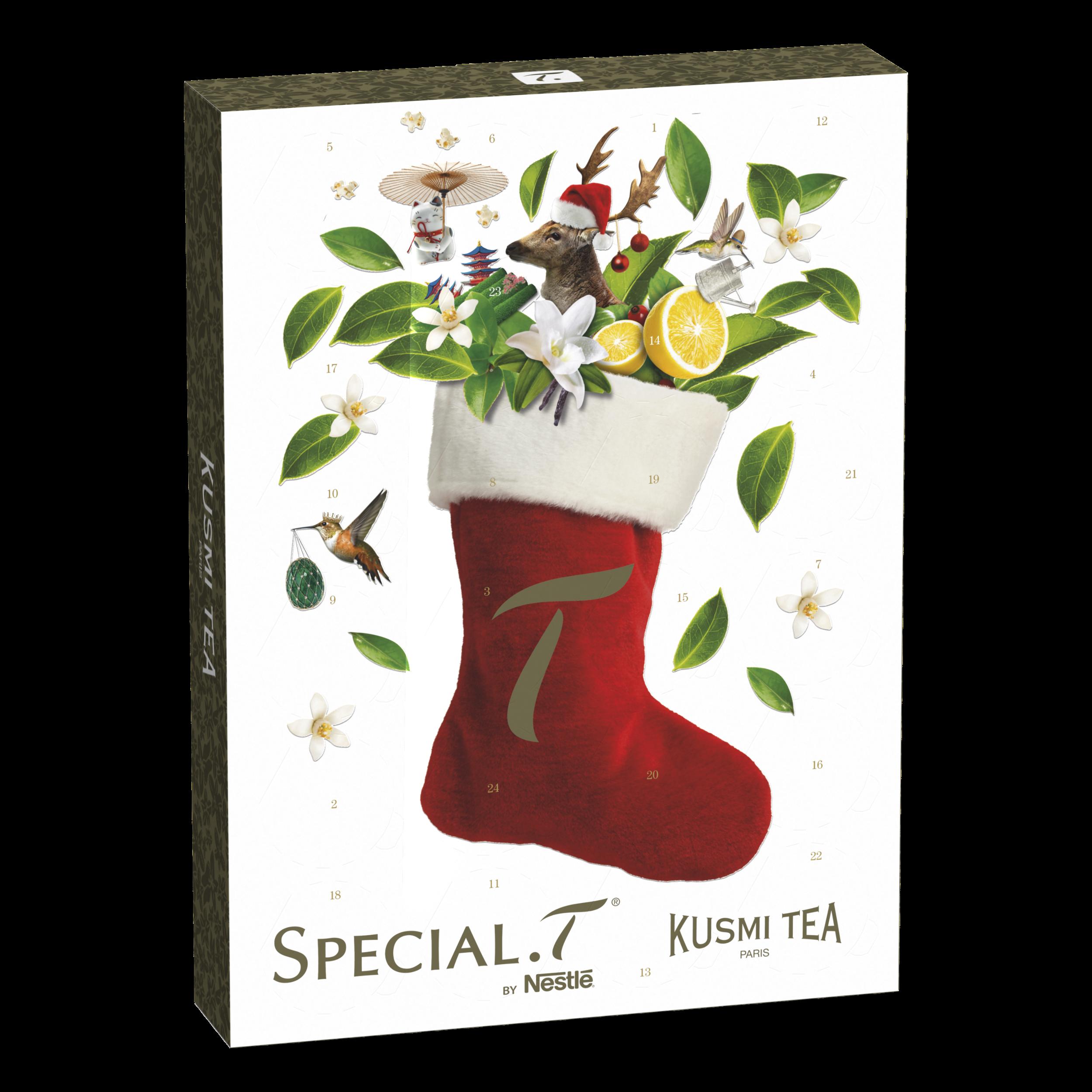 Calendrier de l'Avent Special. T x Kusmi Tea