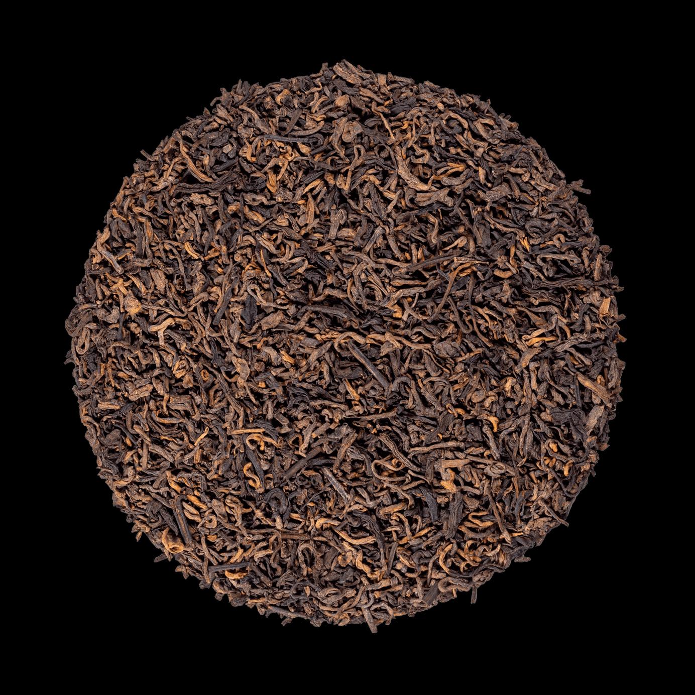 Pu Erh bio - Thé sombre fermenté de Chine - Thé en vrac - Kusmi Tea