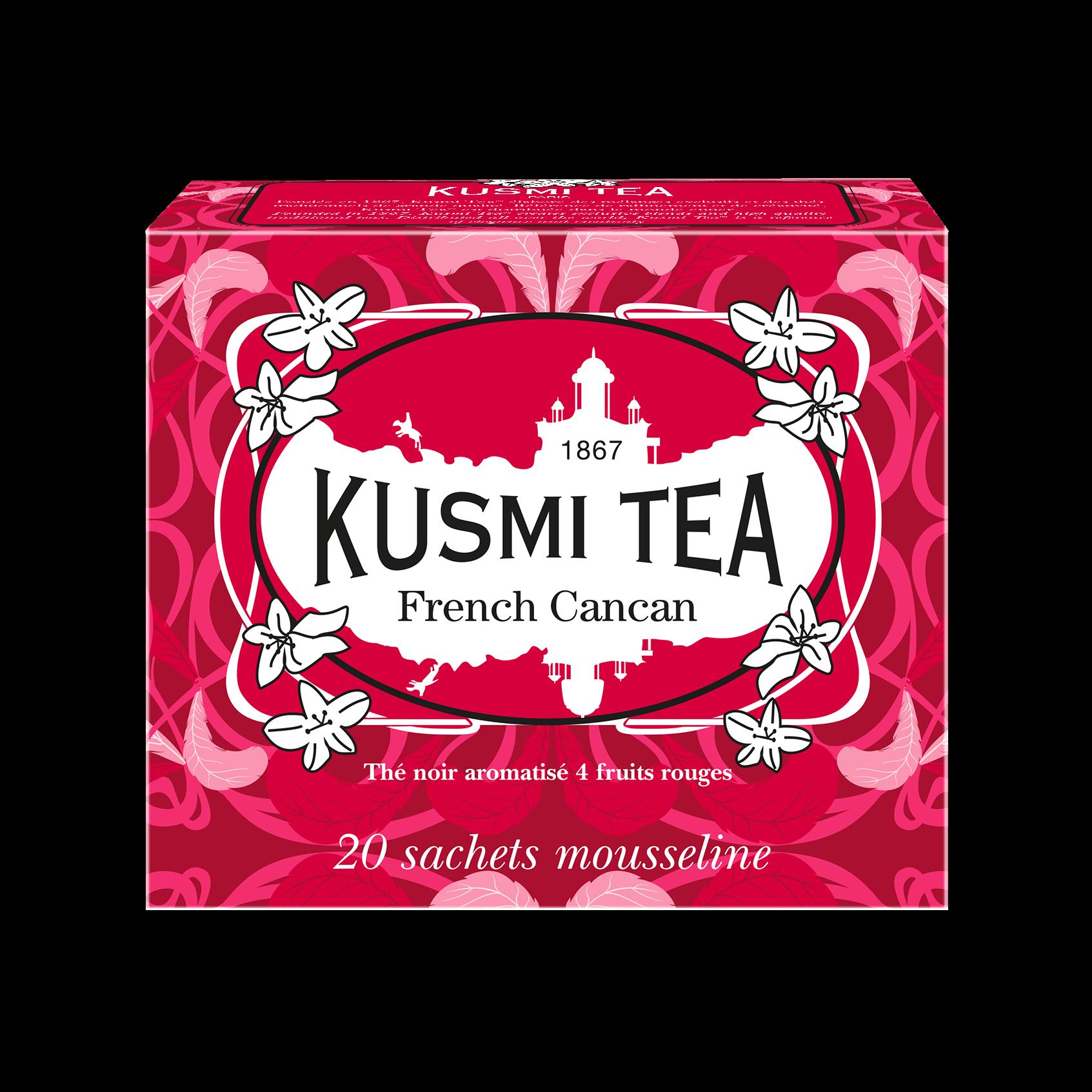 Thé noir - French Cancan - Sachets - Kusmi Tea