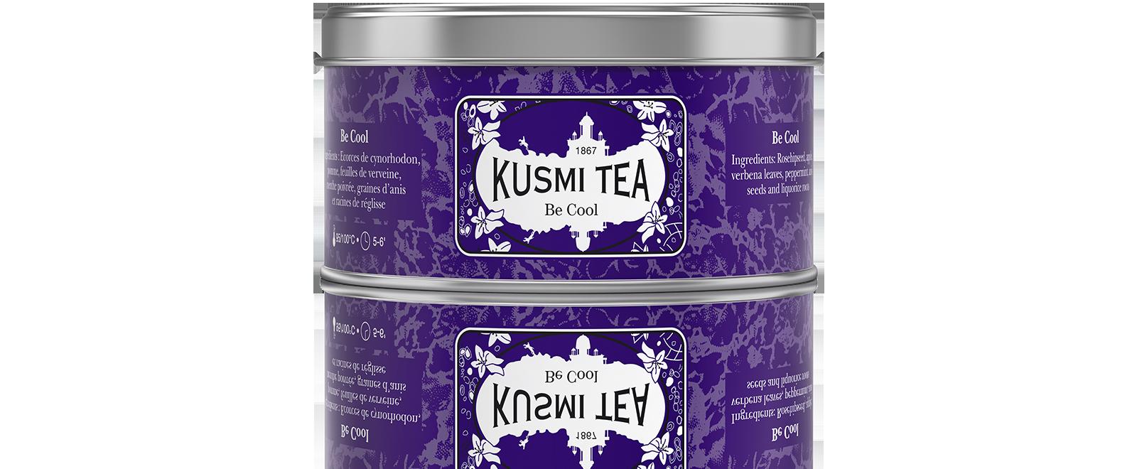Be Cool - Infusion verveine - Boîte de thé en vrac - Kusmi Tea