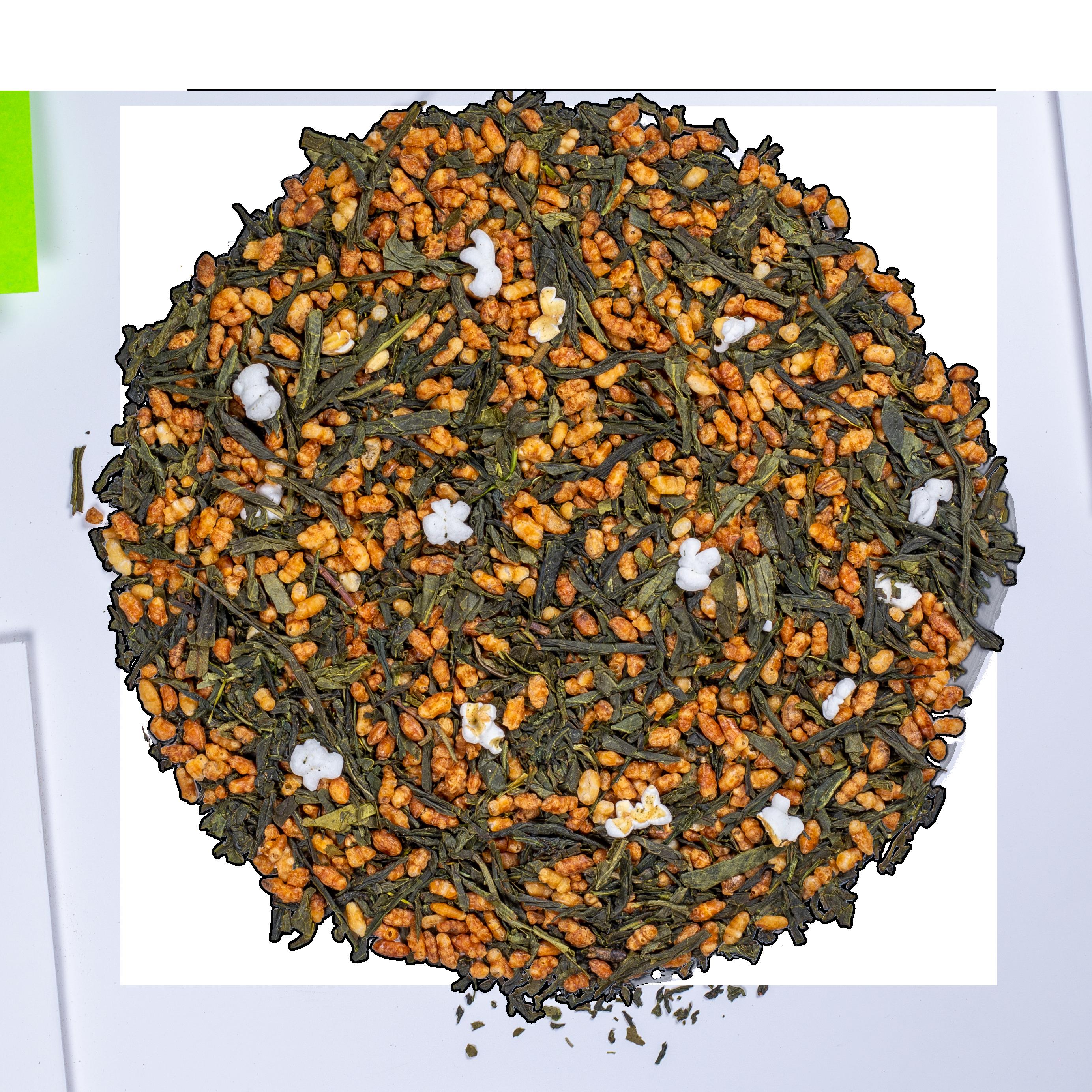 Thé vert - Genmaicha Bio - Vrac - Kusmi Tea