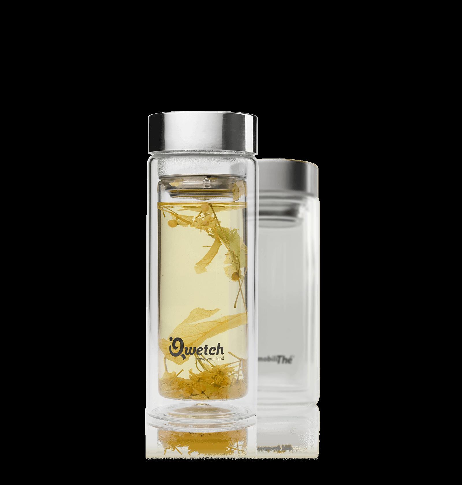 Gourde en verre 32Cl - Accessoire pour le thé - Kusmi Tea