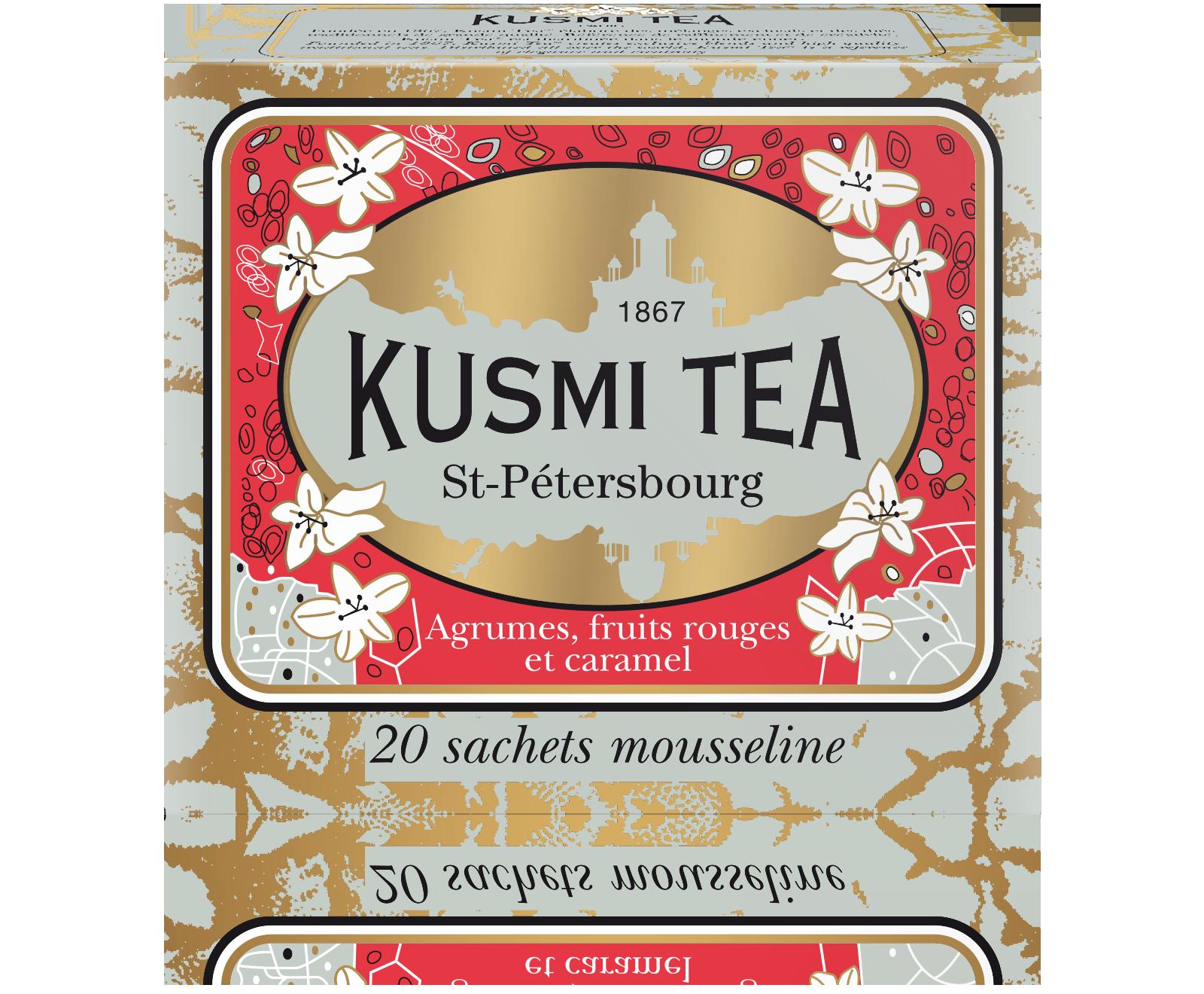 Earl Grey - St-Pétersbourg - Sachets - Kusmi Tea