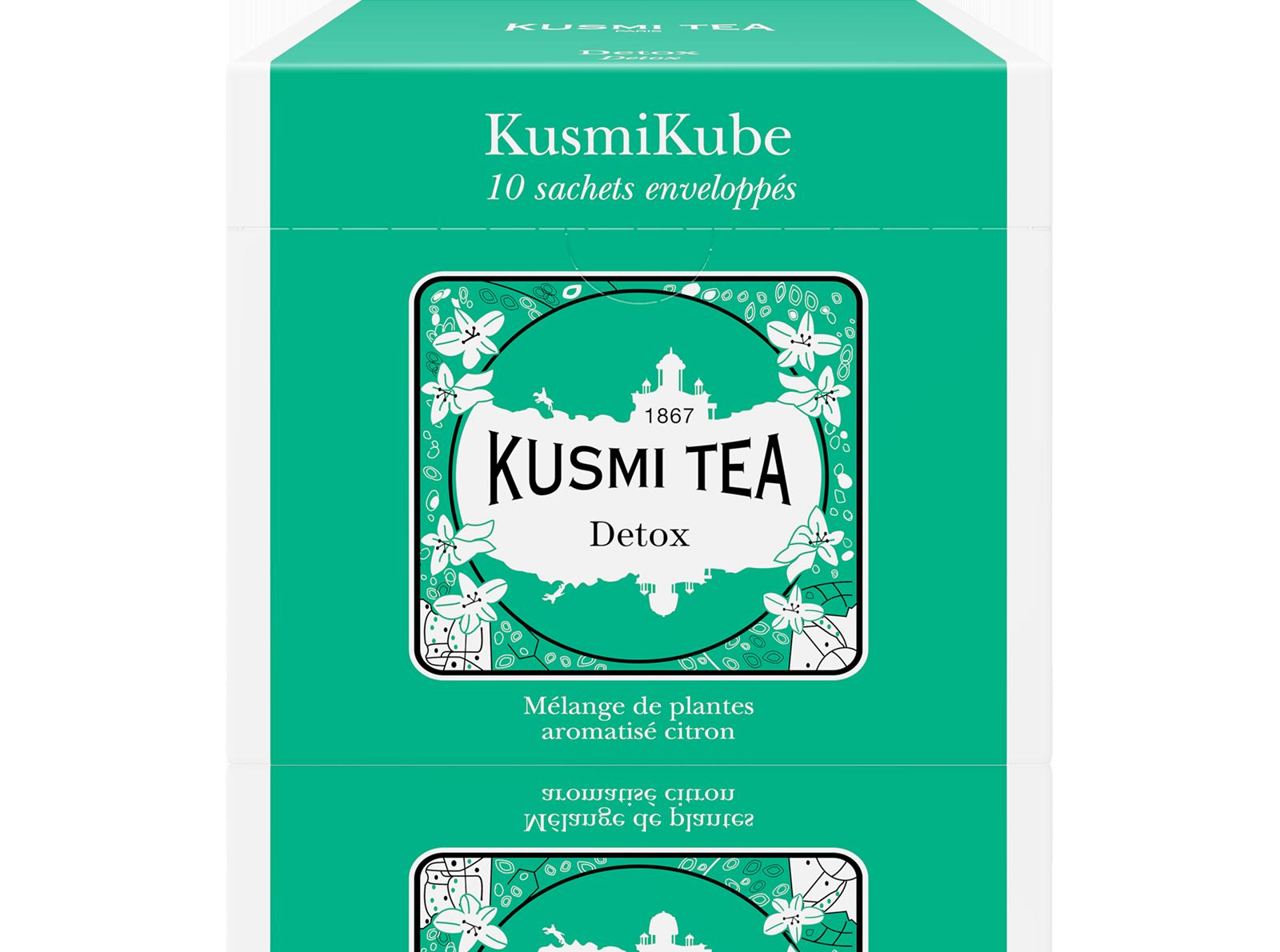 Thé vert, maté - Detox - Sachets - Kusmi Tea