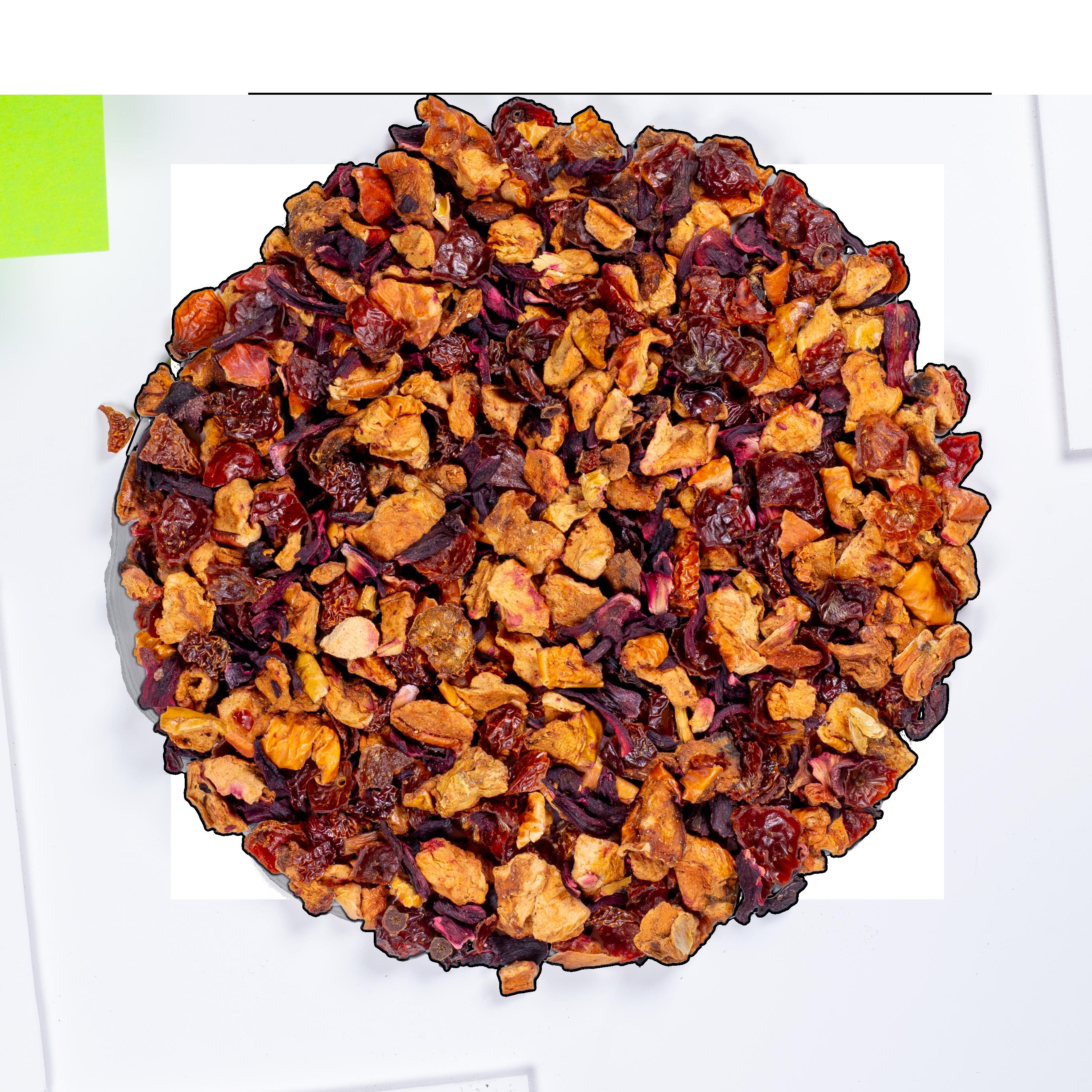 Infusion d'hibiscus bio - AquaExotica (Infusion de fruits bio) - Vrac - Kusmi Tea