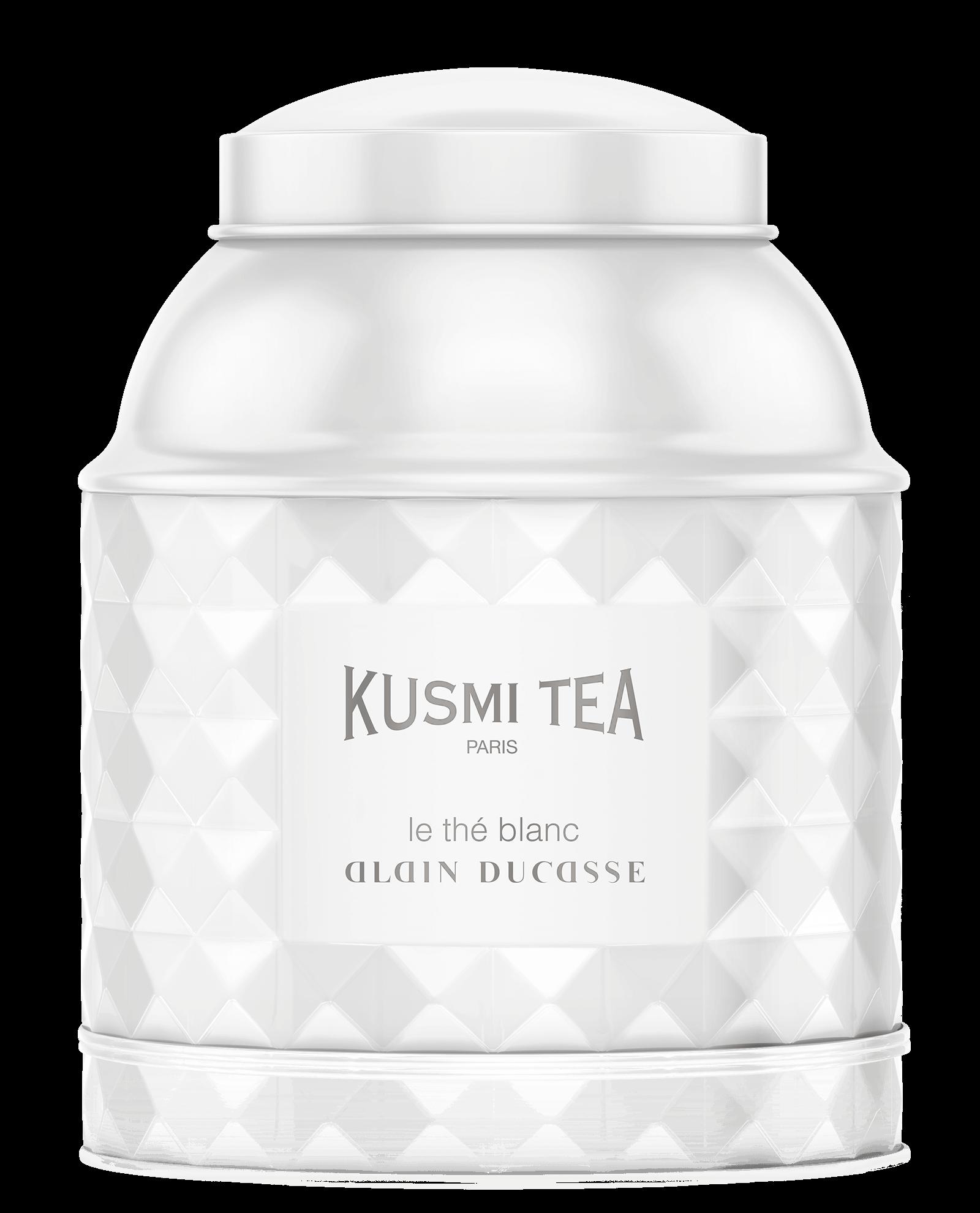 Thé blanc - Le Thé Blanc Alain Ducasse - Vrac - Kusmi Tea - thé blanc & vert aromatisé framboise - rose