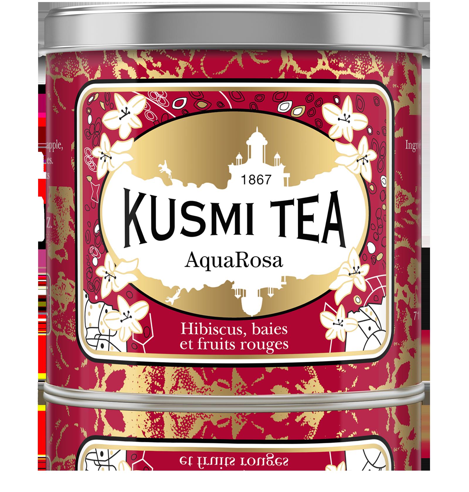 Infusion AquaRosa Boîte Métal (250 g) Kusmi Tea