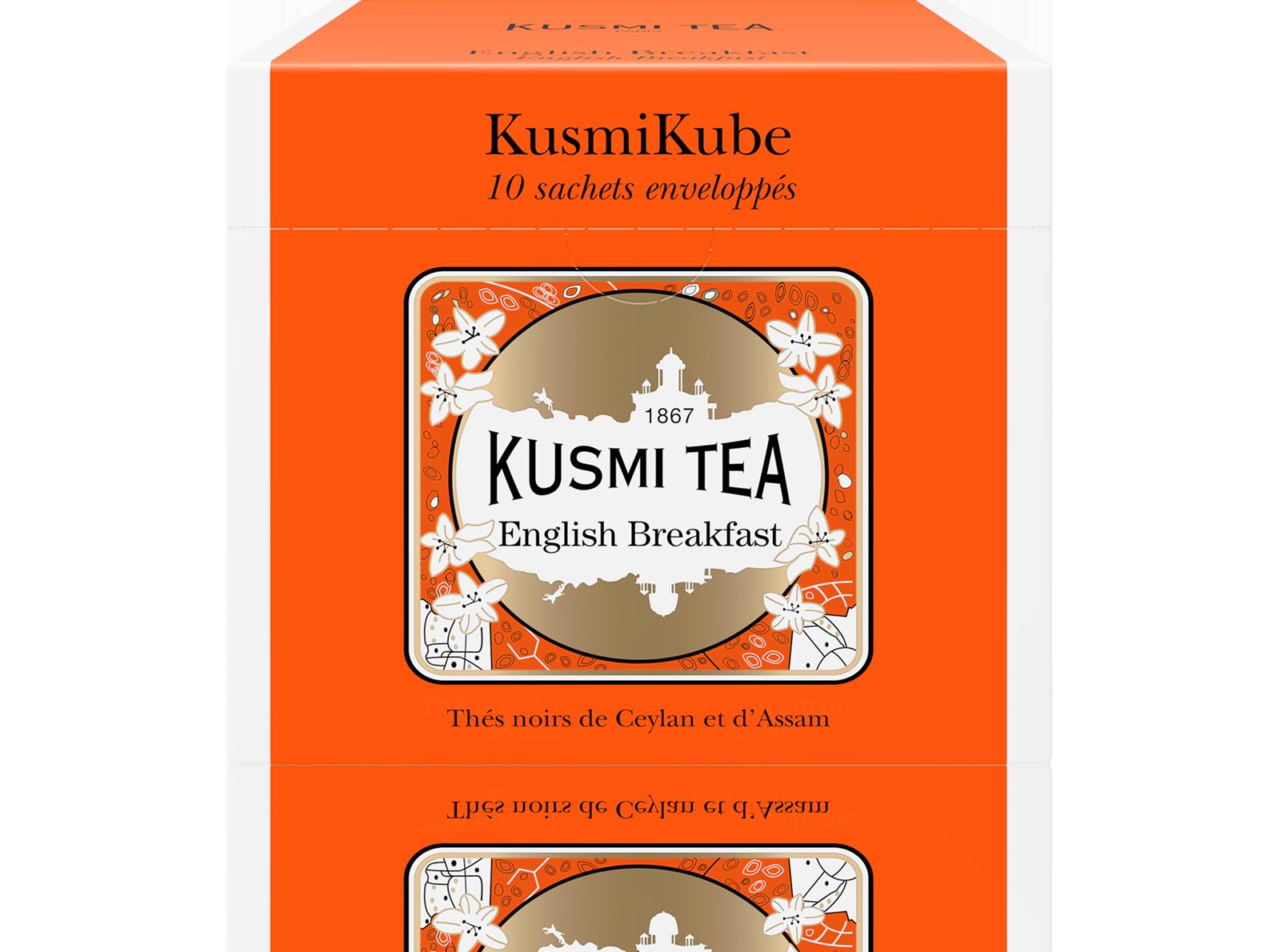 Thé noir sachet - English Breakfast - Kusmi Tea