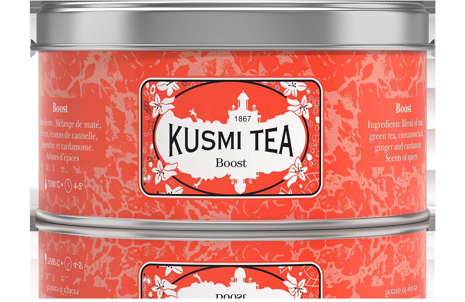 Boost Thé vert- Maté-CannelleKusmi Tea